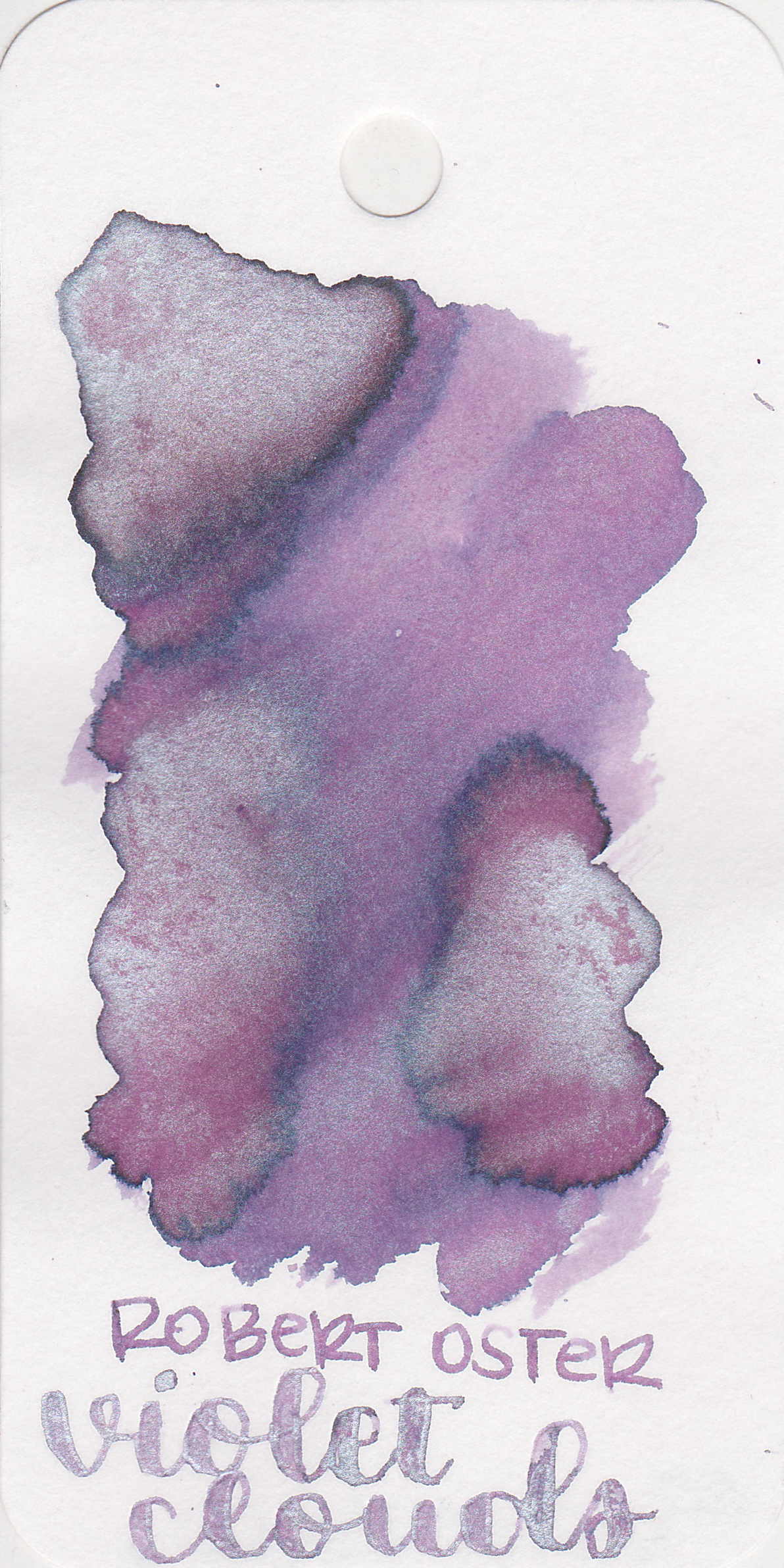 The color: - Violet Clouds is a light purple with lots of shimmer. I think this ink would be lovely to use for spring, especially around Easter time.