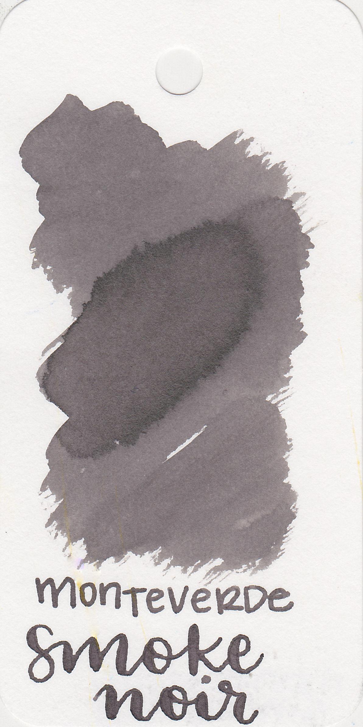 The color: - Smoke Noir is a medium grey.