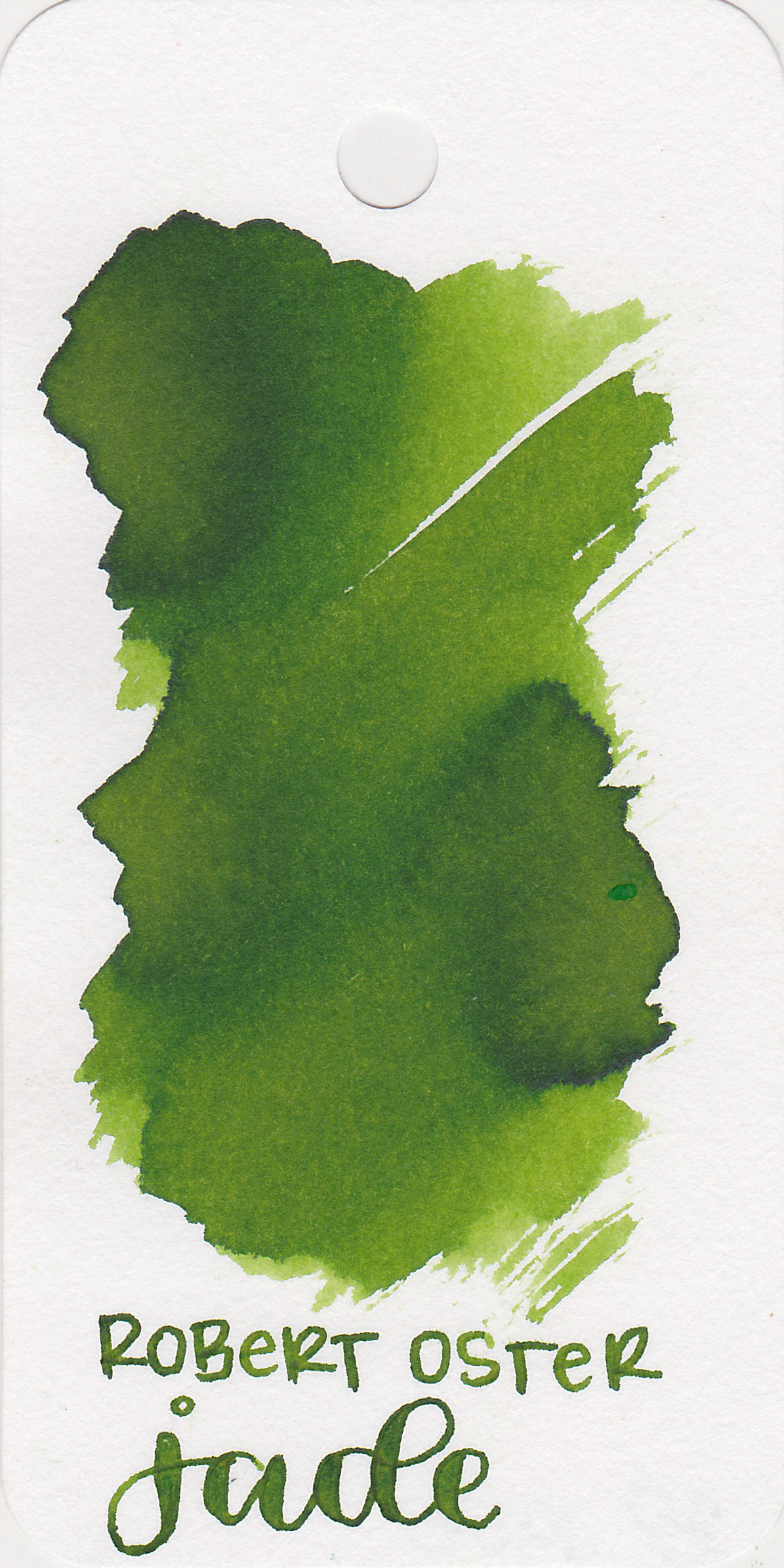 The color: - Jade is a medium green with some lovely shading.