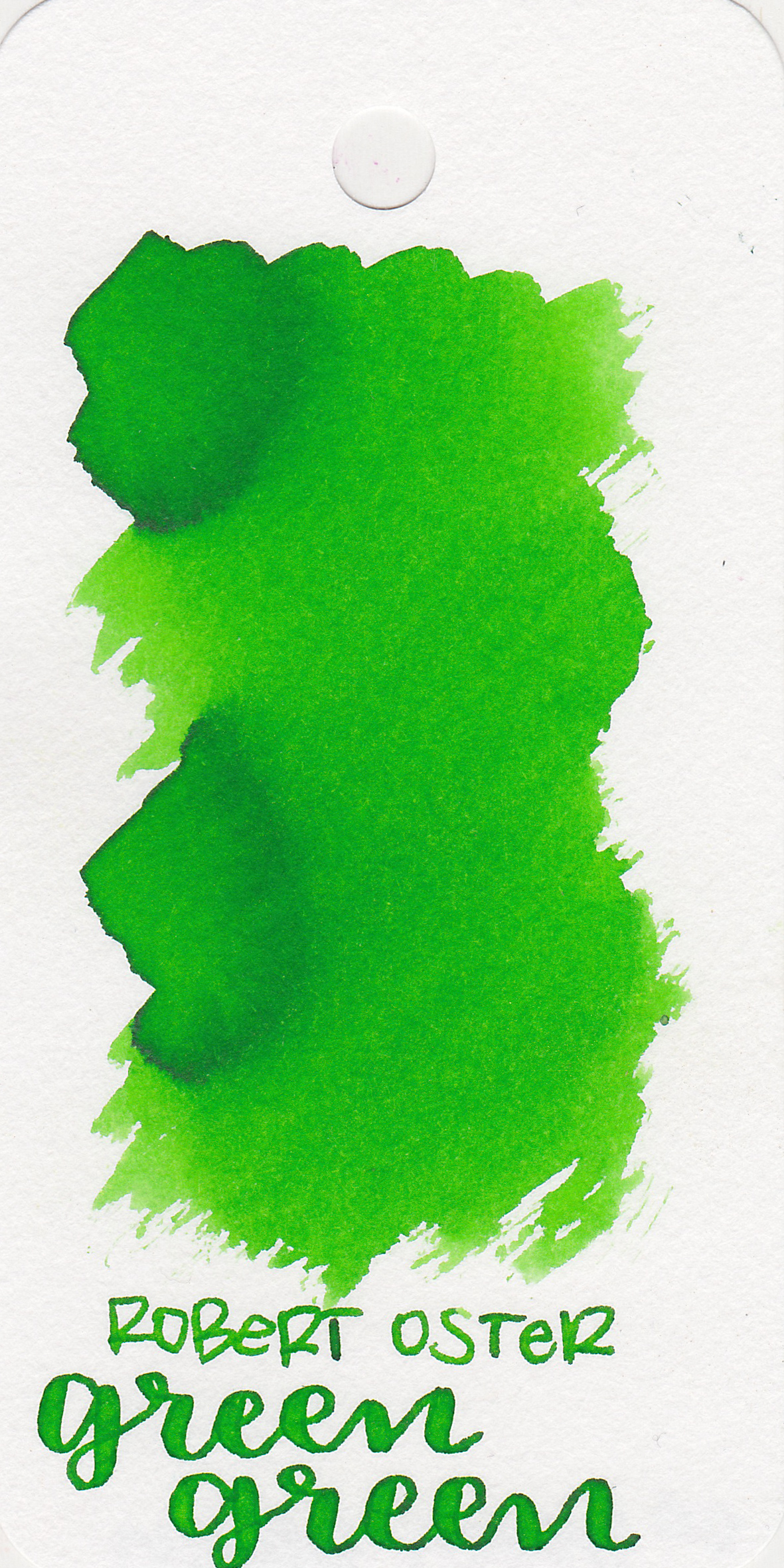 The color: - Green green is a medium bright green.