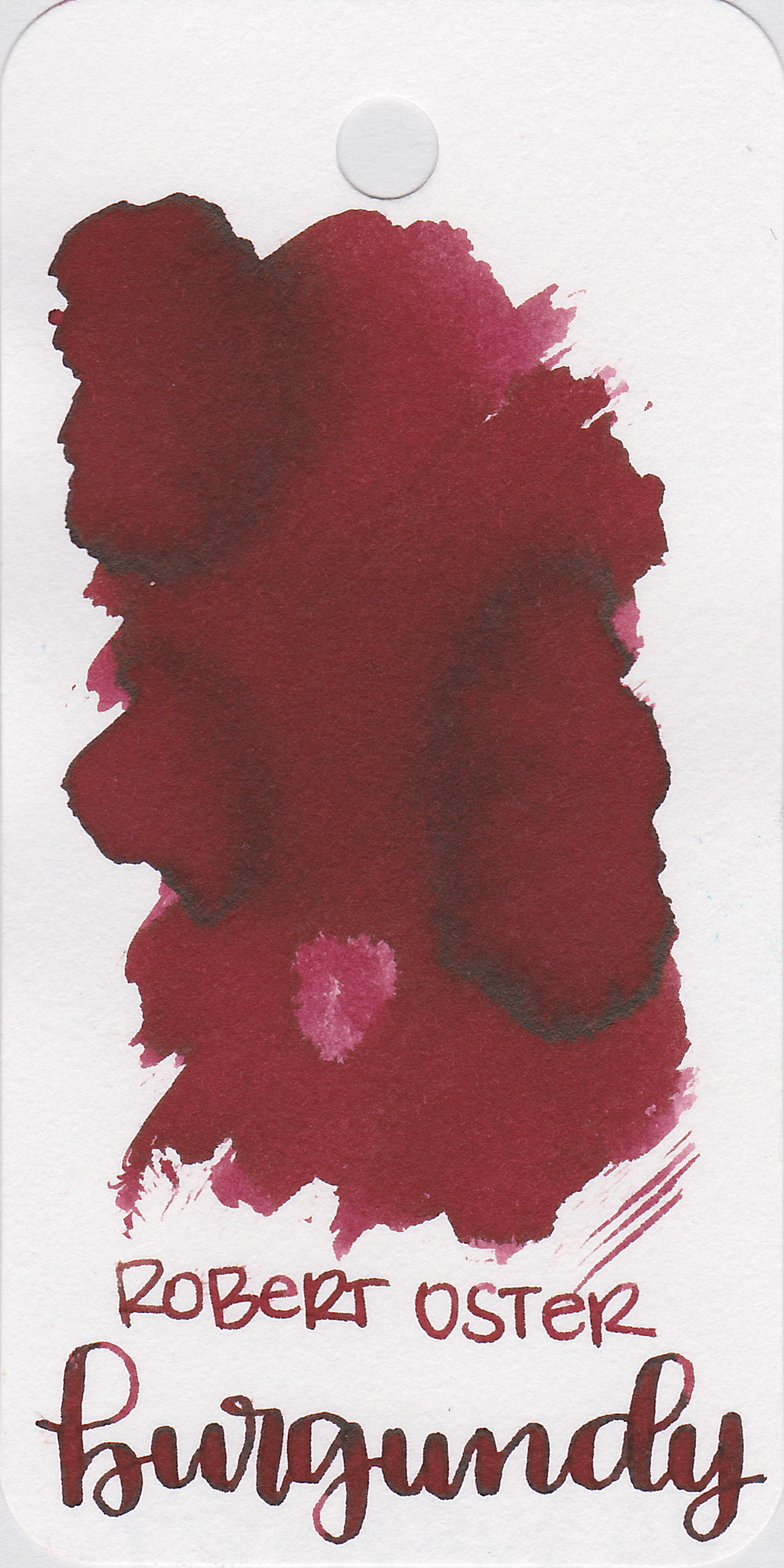 The color: - Burgundy is a medium red, almost a maroon.