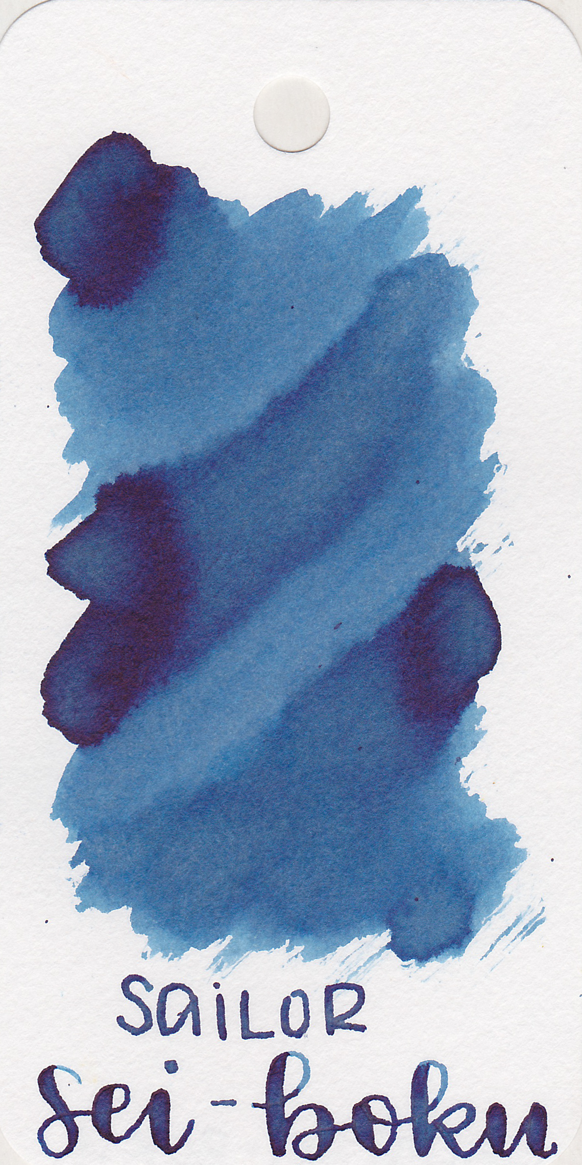 The color: - Sei-boku is a lovely blue black.