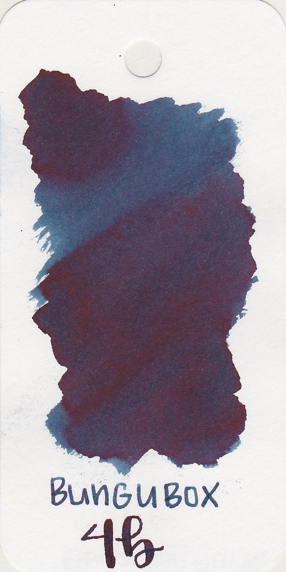 The color: - 4B is a dark blue black.