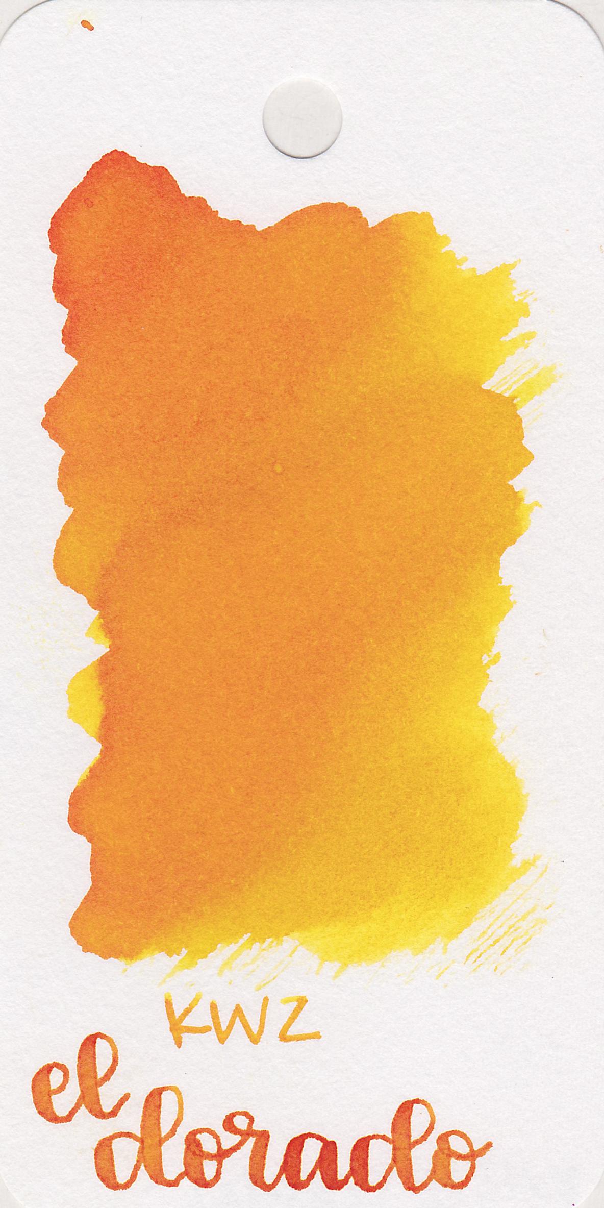 The color: - El Dorado is a medium yellow.