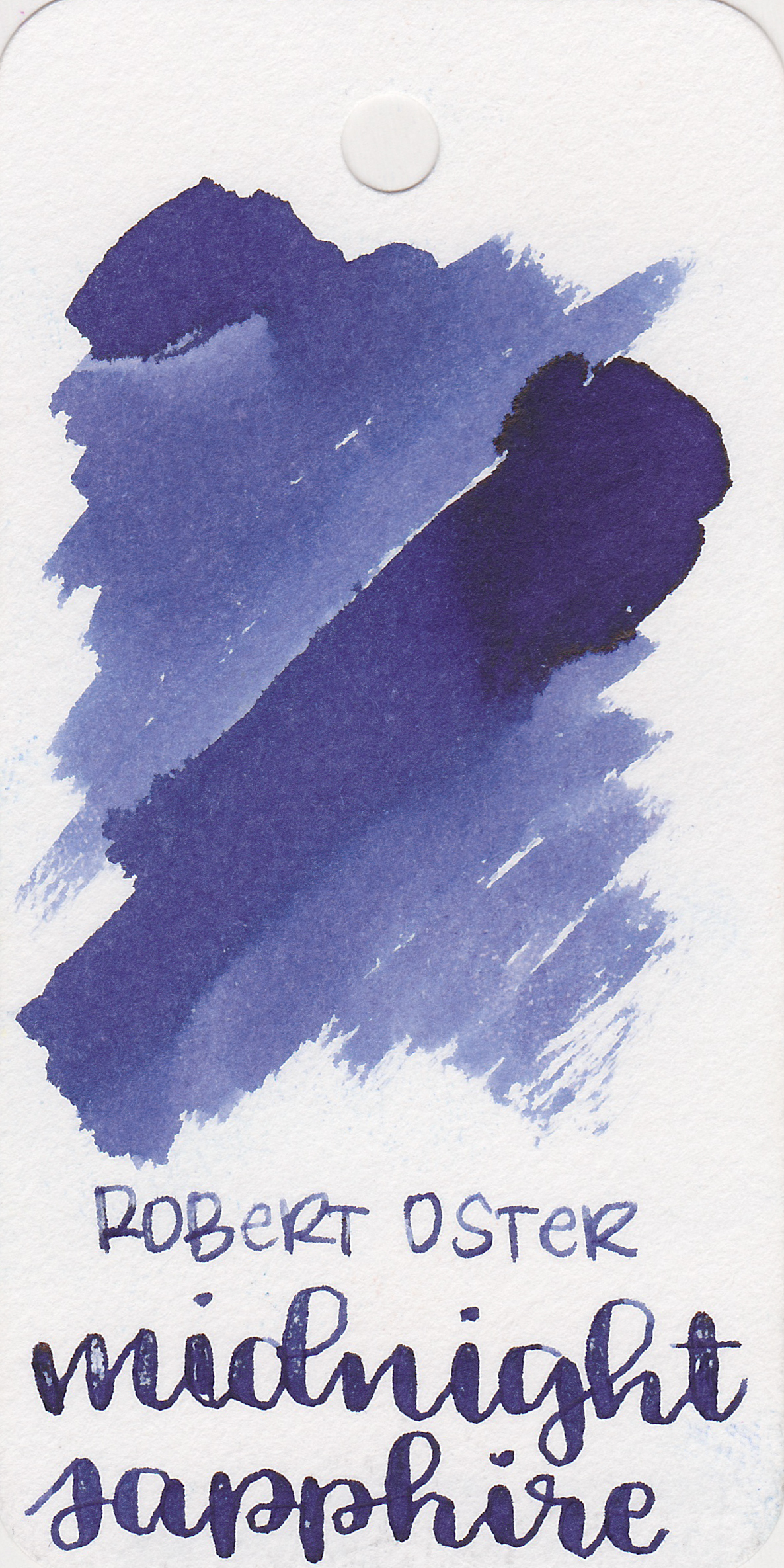 The color: - Midnight Sapphire is a lovely dark blue with a purple undertone.