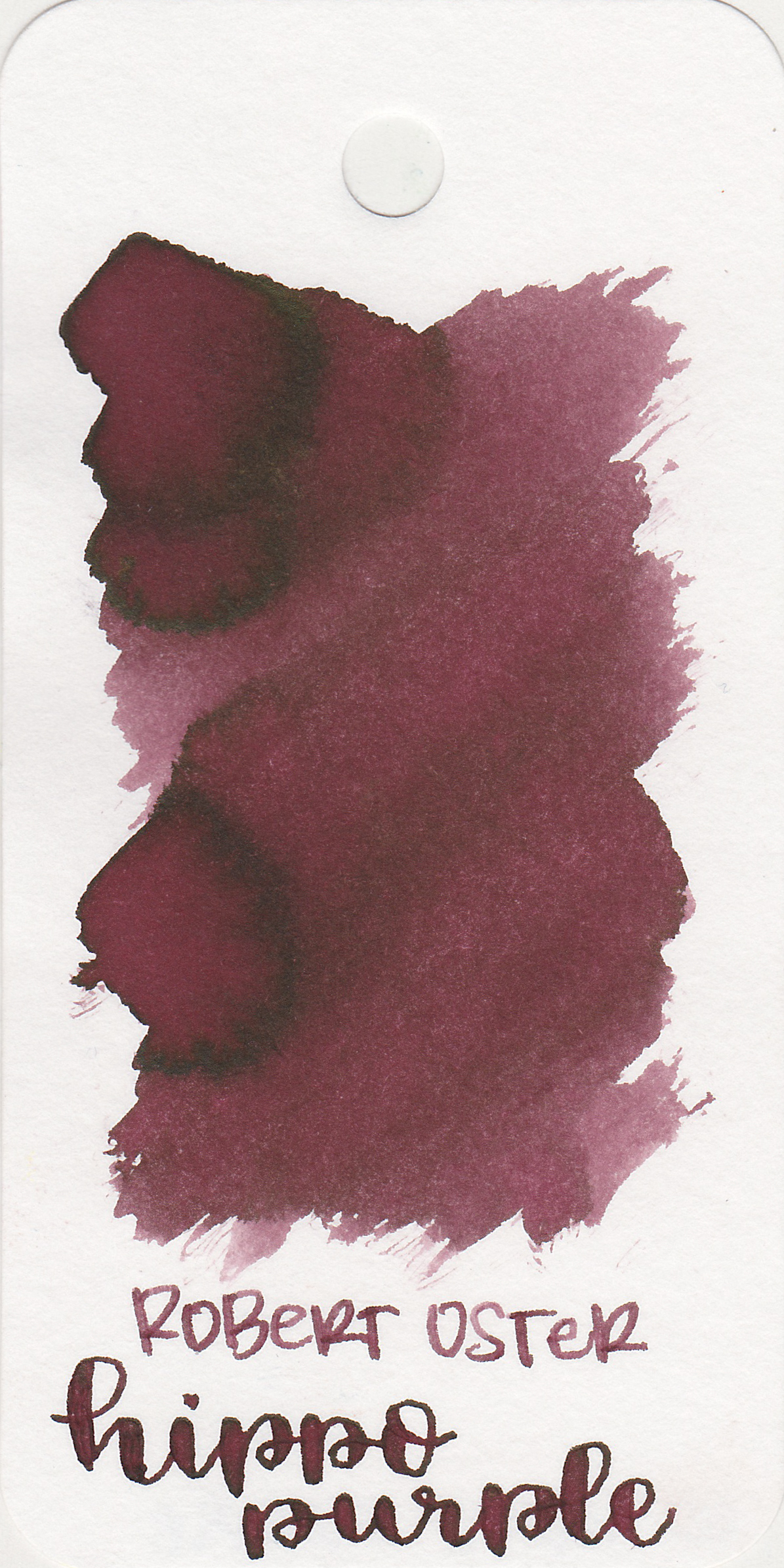 The color: - Hippo Purple is a medium purple-brown. It really does look like the color of hippos.