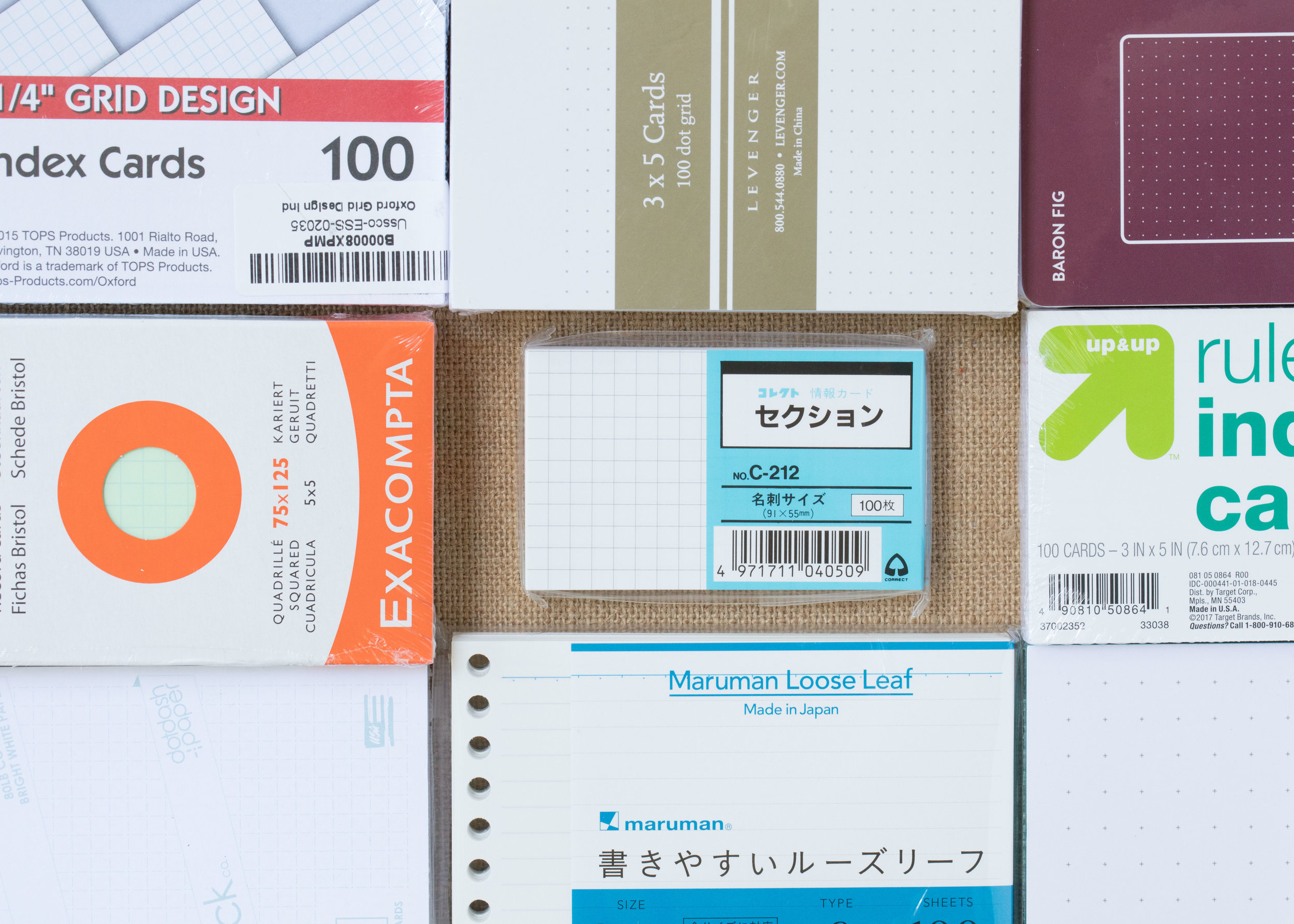 The Index Card Vortex — Mountain Of Ink