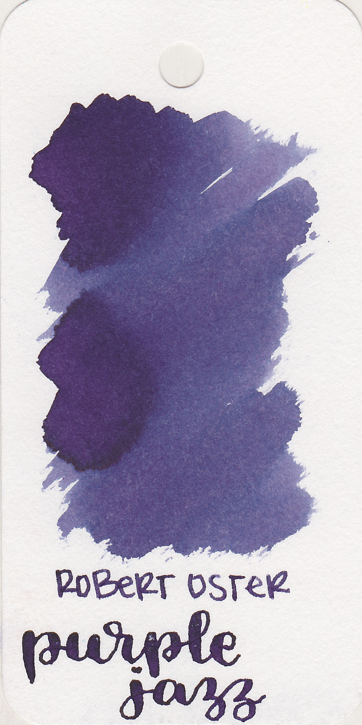 The color: - Purple Jazz is a dark blue-violet. It's not quite blue, but it's not quite violet either-it rides the no man's land in-between.
