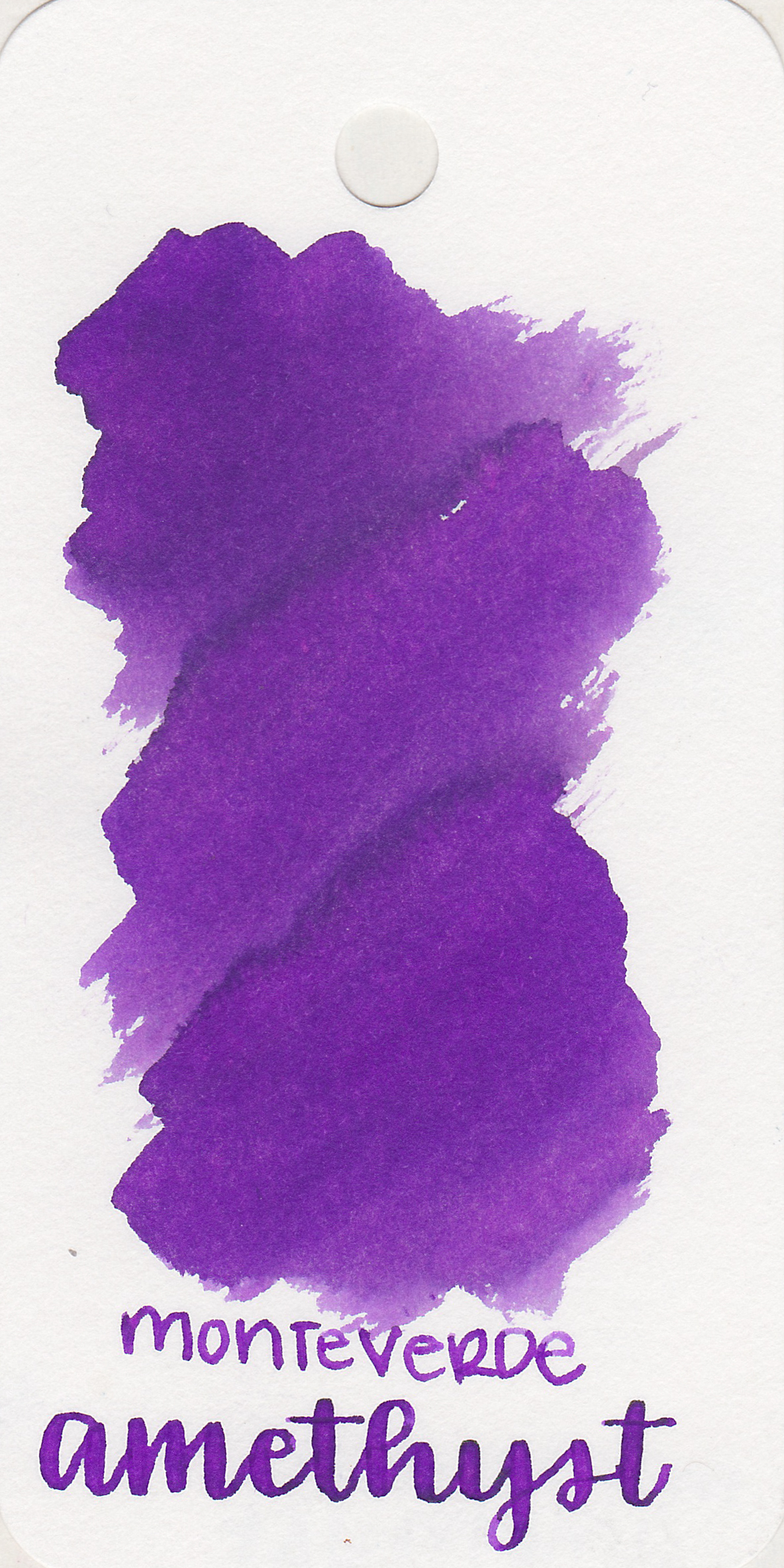 The color: - Amethyst is a beautiful, bright medium purple.