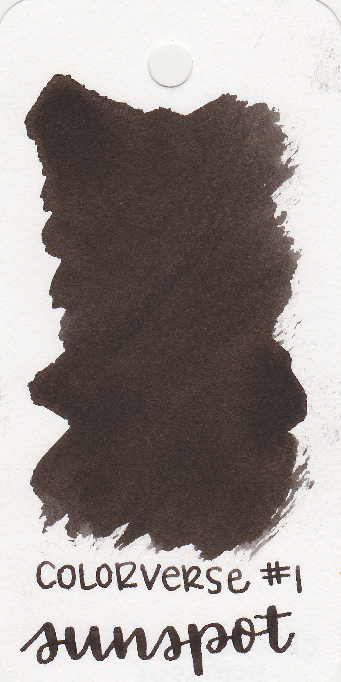 The color: - Sunspot is a sheeny black. It's a great neutral, but has the sheen to make it interesting.