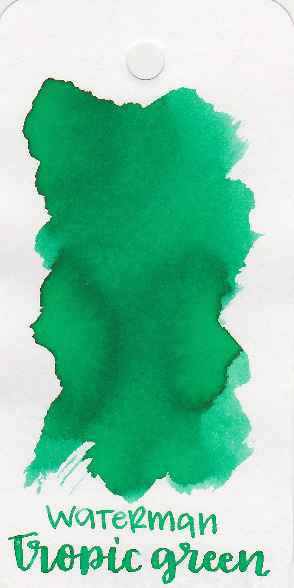 The color: - Tropic Green is a bright medium green.