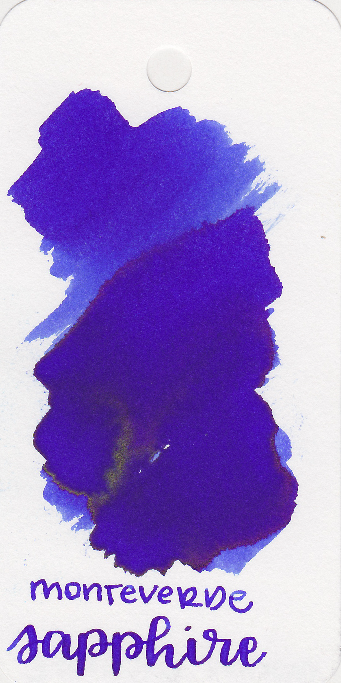 The color: - Sapphire is a beautiful royal blue.