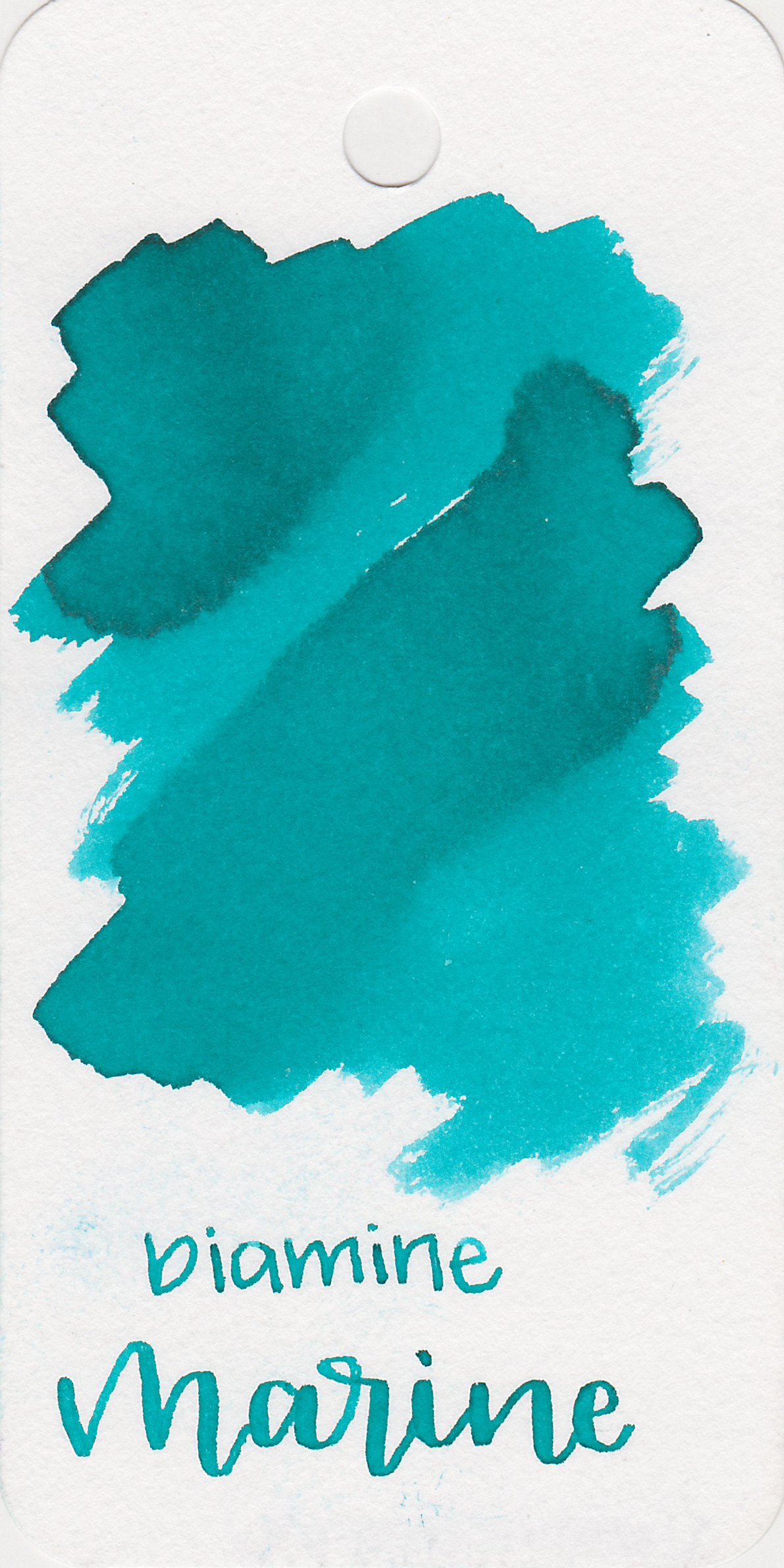 The color: - Marine is a beautiful light teal.