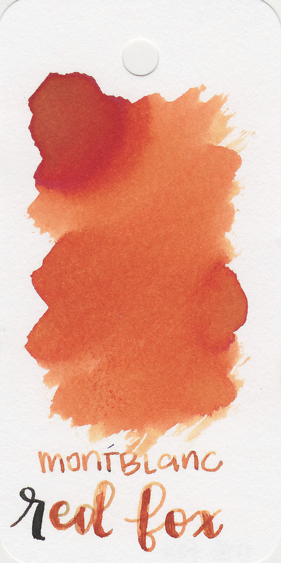 The color: - Red Fox is a red-orange, a bit on the muted side. It does remind me of the color of a fox, so I think the name is fitting.