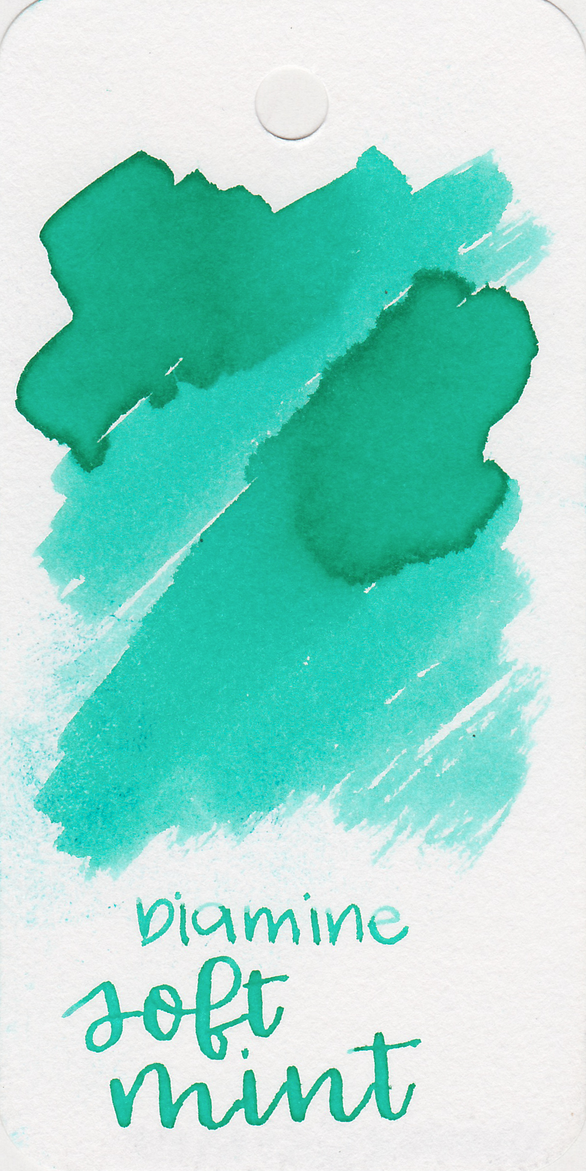 Diamine Soft Mint - Soft Mint is a beautiful color, one of my favorite Diamine inks.