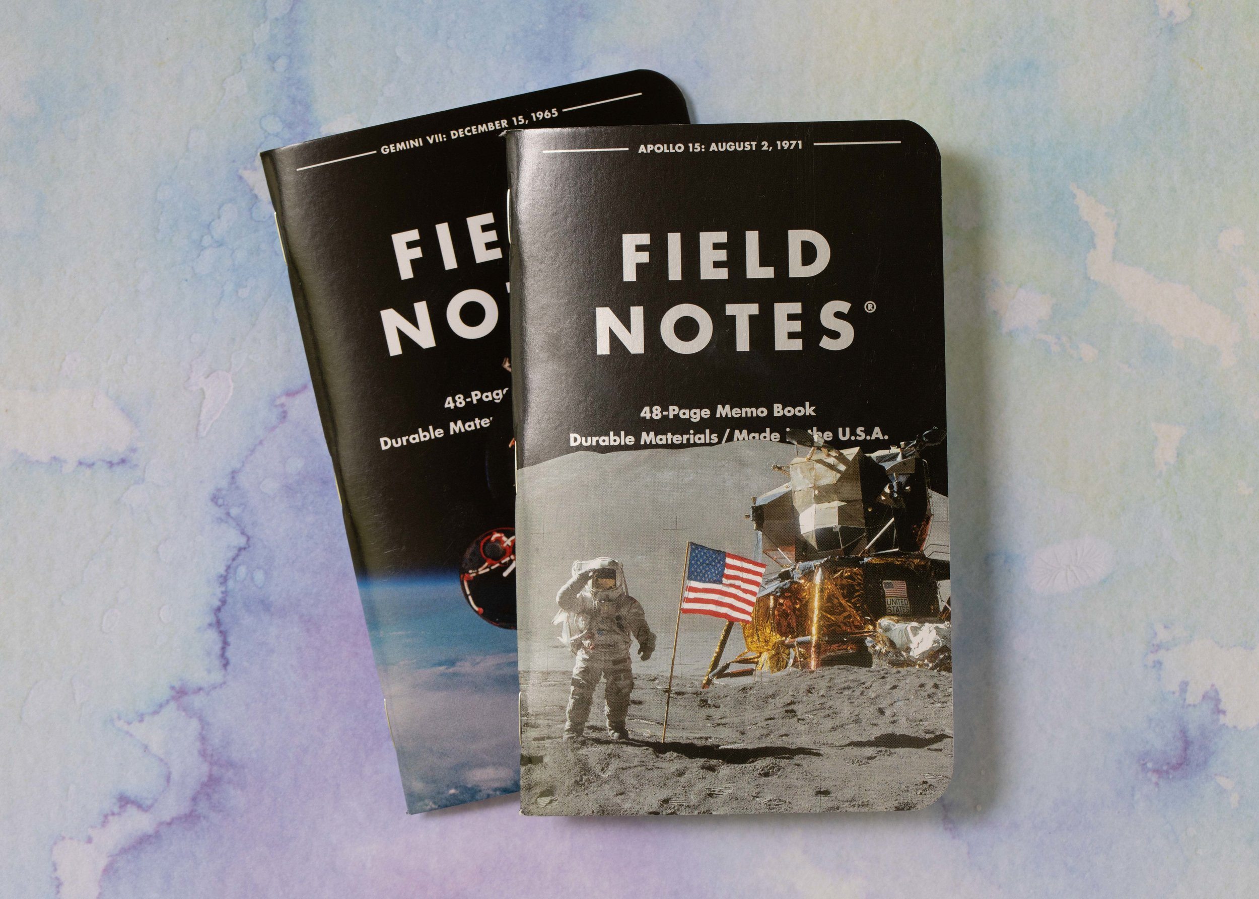 As part of the open house, Paperquirks did a raffle, and I won a set of the new Field Notes release. My husband already stole one out of my pack.