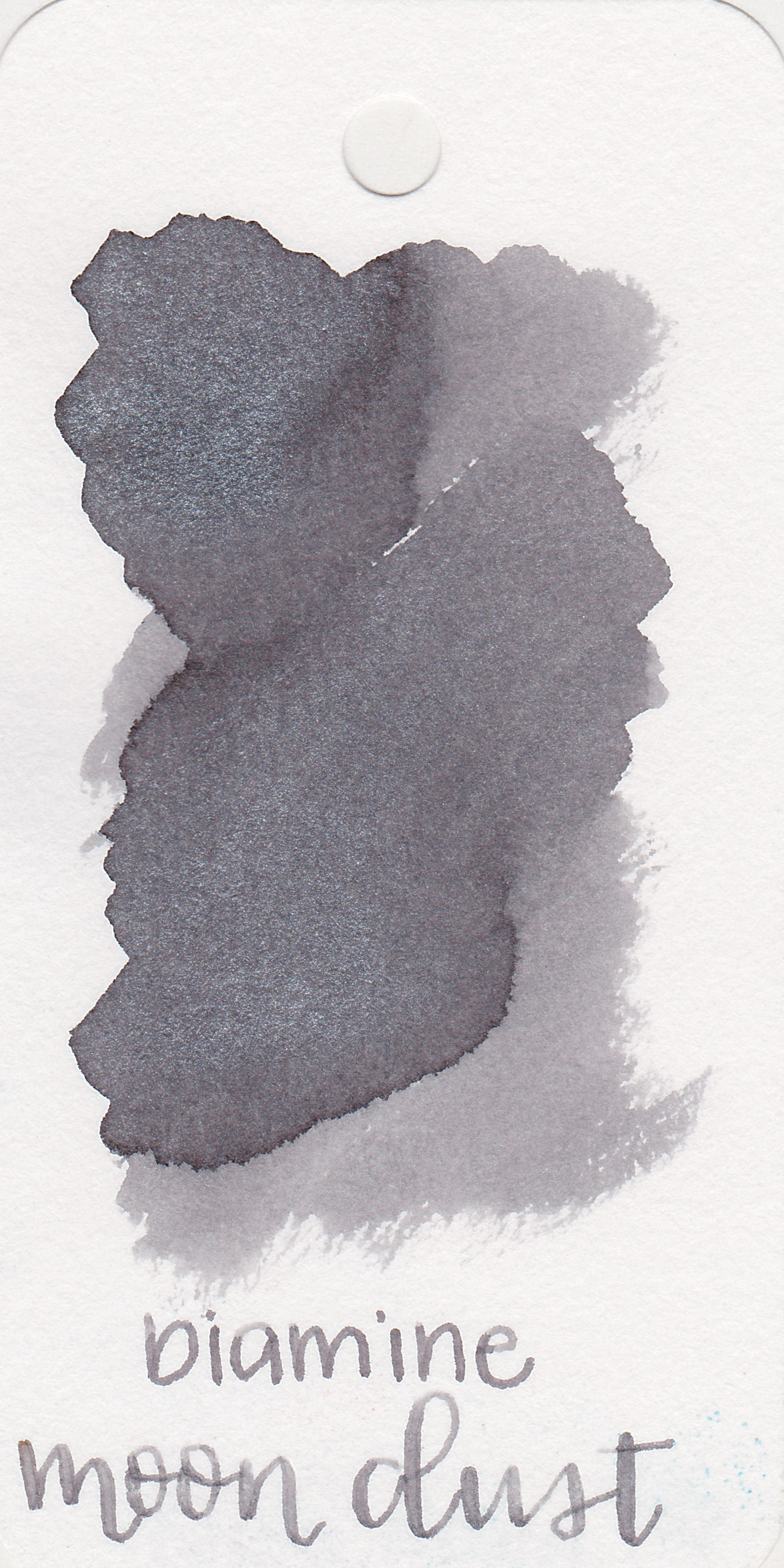 The color: - Moon Dust is a light, neutral grey.