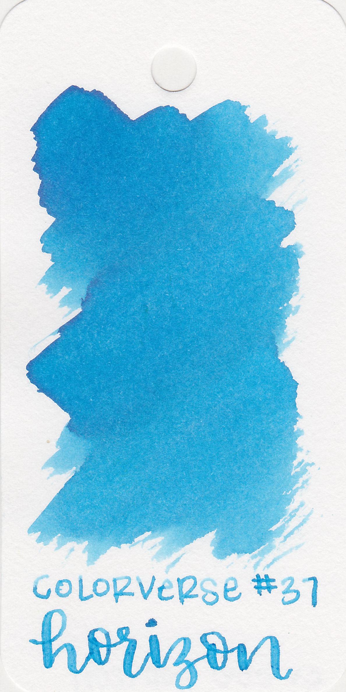 The color: - Horizon is a pretty,light sky blue.