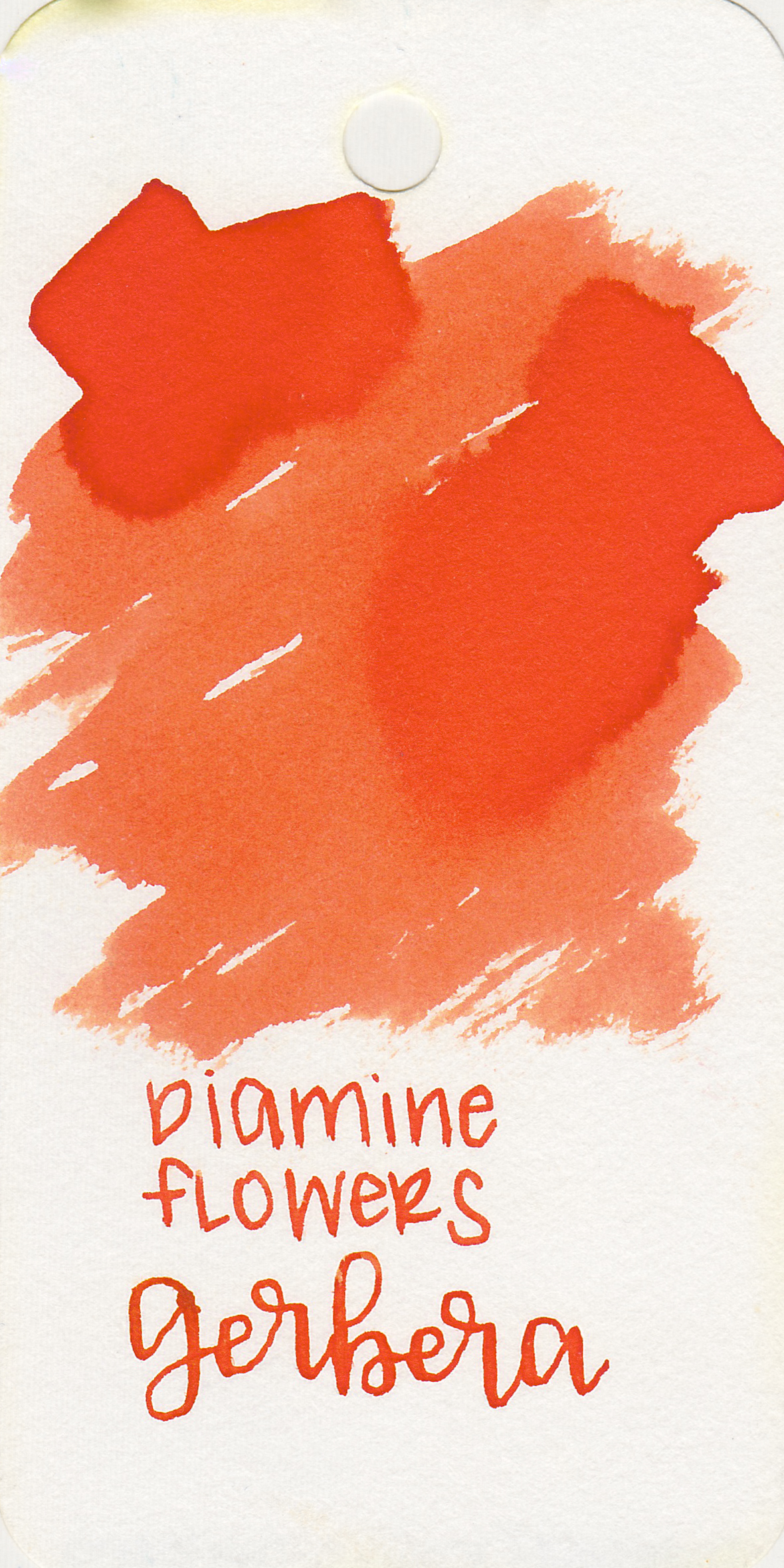 The color: - Gerbera is a beautiful orange. I don't usually like orange inks that much, but I love this color.