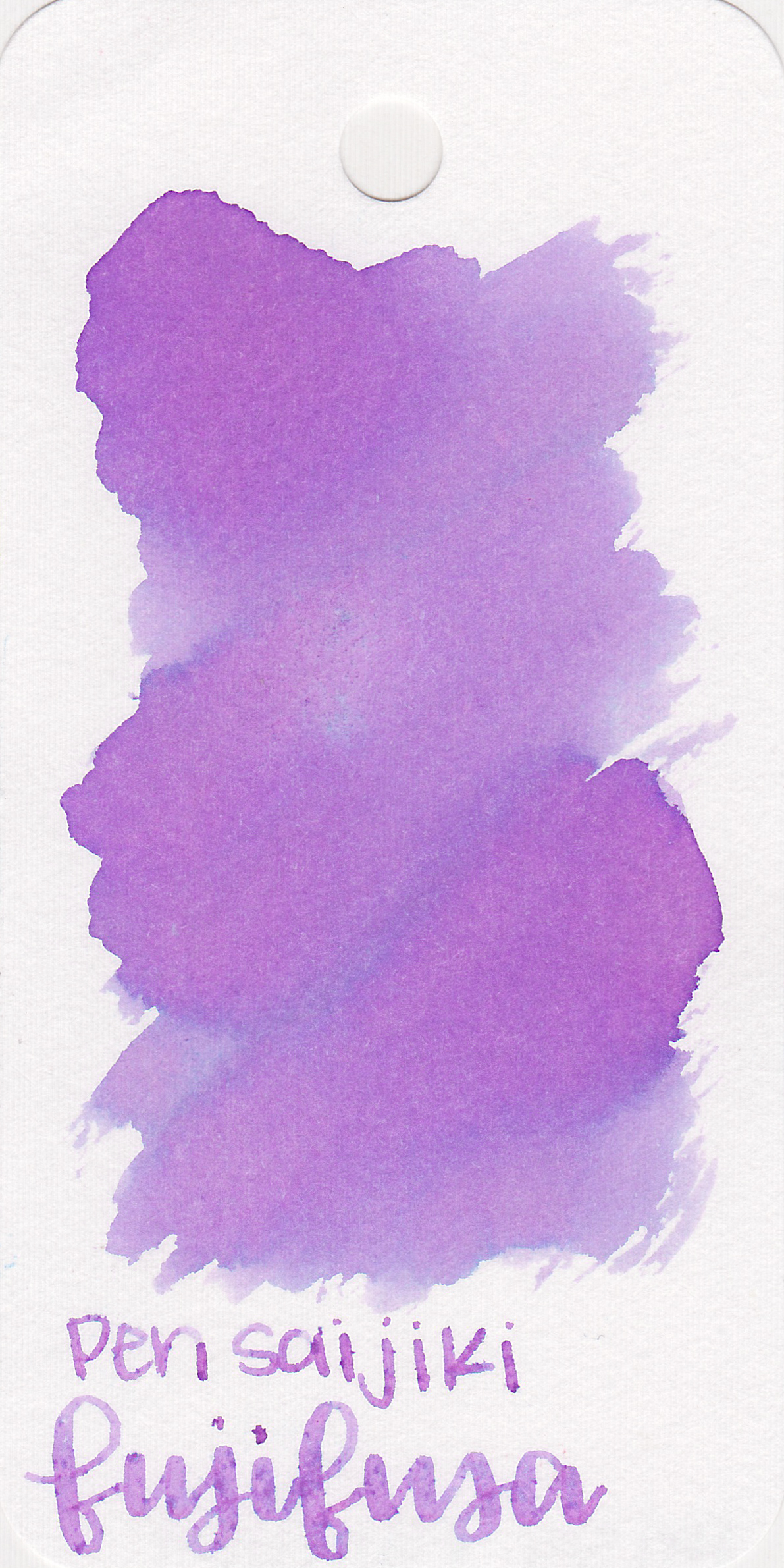 The color: - Fujifusa is a pretty, light purple, perfect for spring time. It reminds me of lilacs.
