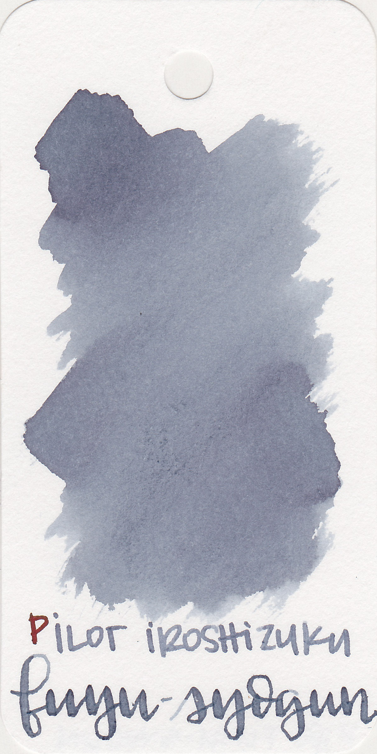 The color: - Fuyu-syogun is a medium grey with a purple undertone.