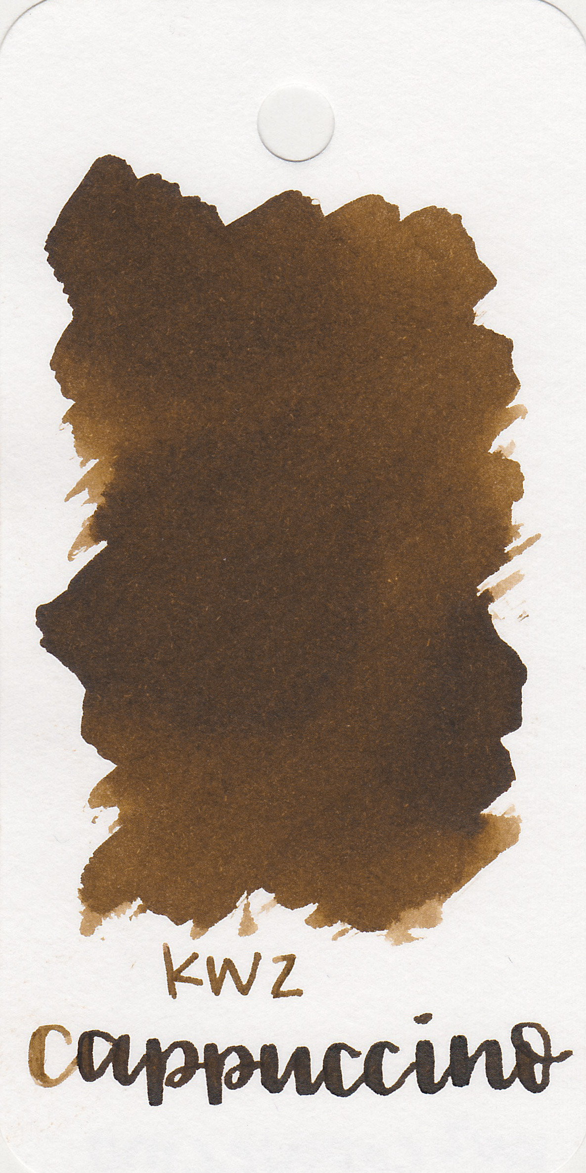 The color: - Cappuccino is a medium warm brown.