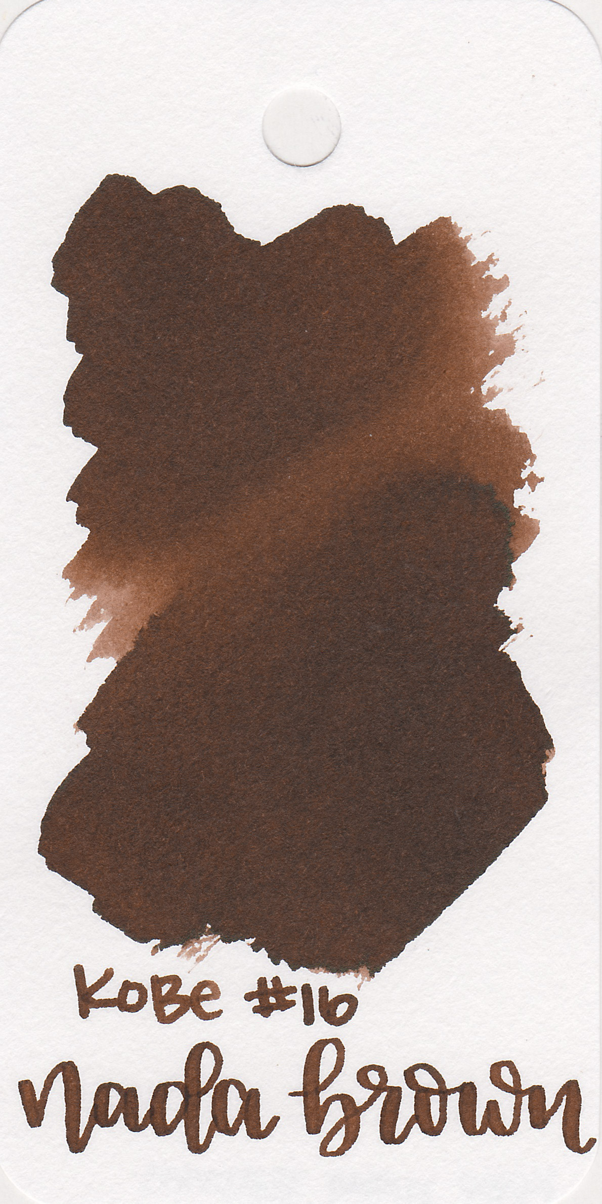 The color: - Nada Brown is a medium, neutral brown. This color would be great for autumn.