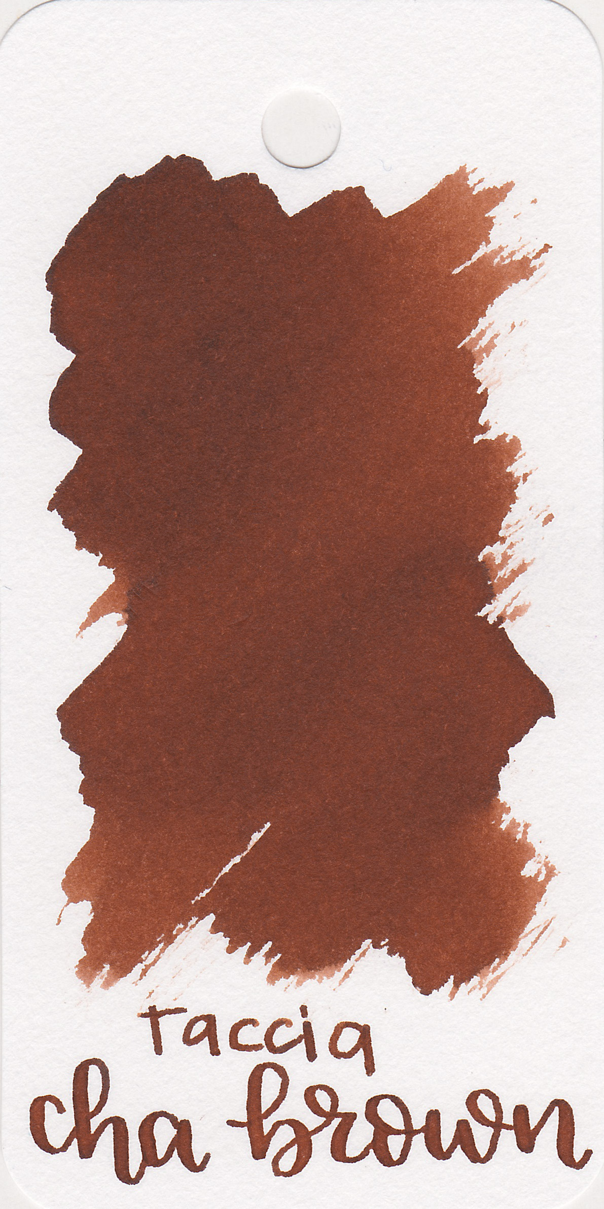 The color: - Cha Brown is a nice medium-dark brown with a bit of a red undertone.