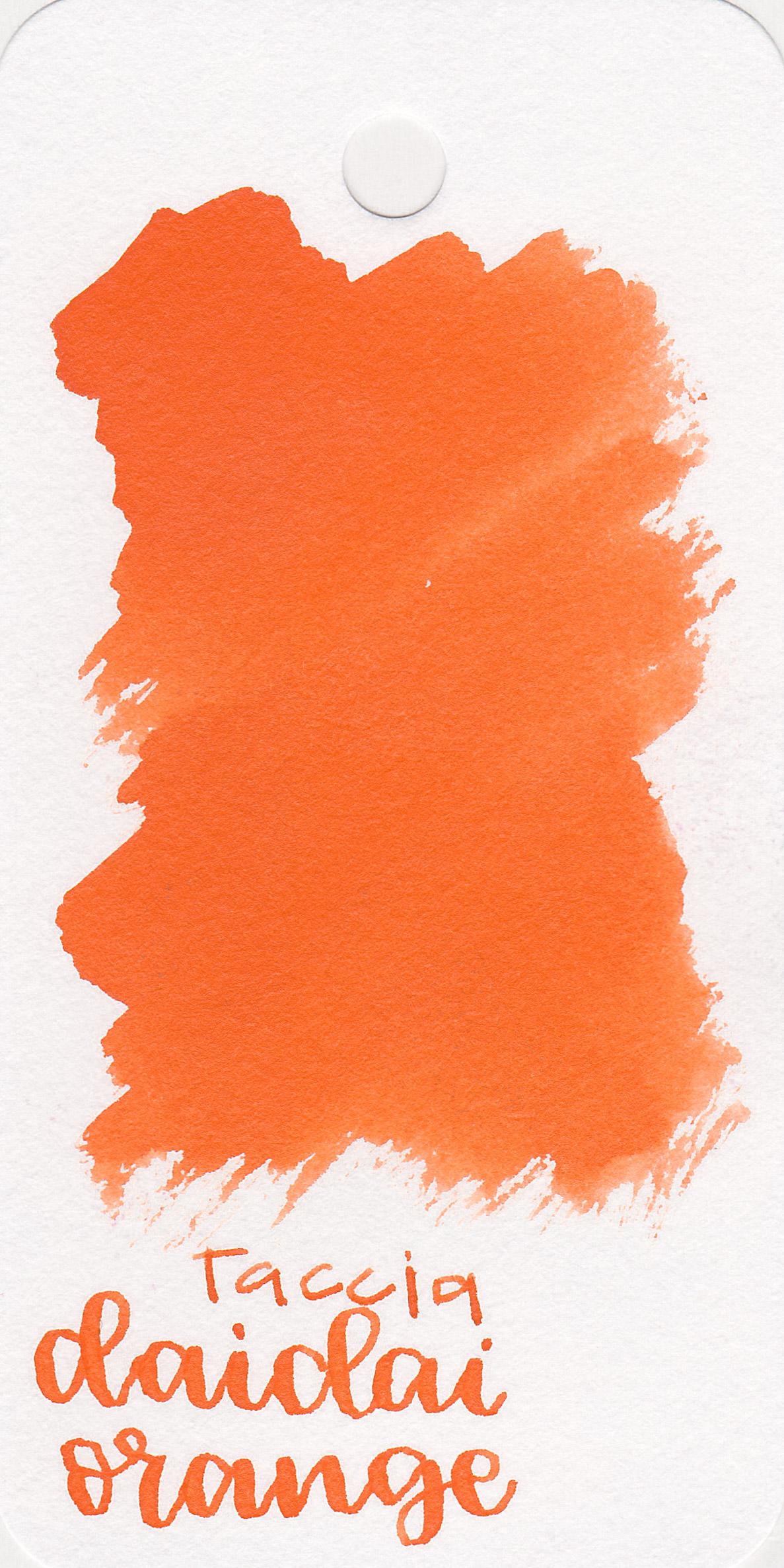 The color: - Daidai orange is a classic bright orange. I would call it a summery orange.