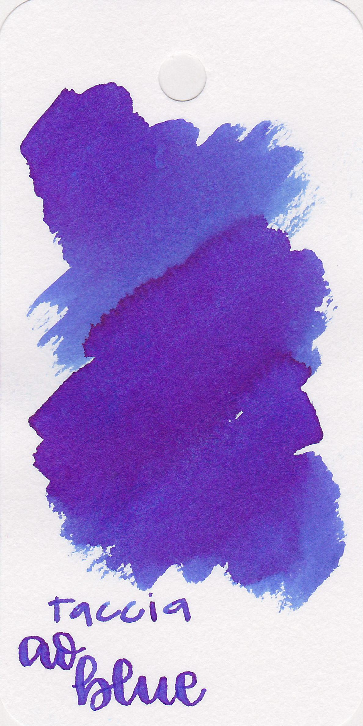 The color: - Ao Blue is a beautiful medium blue with coppery red sheen.