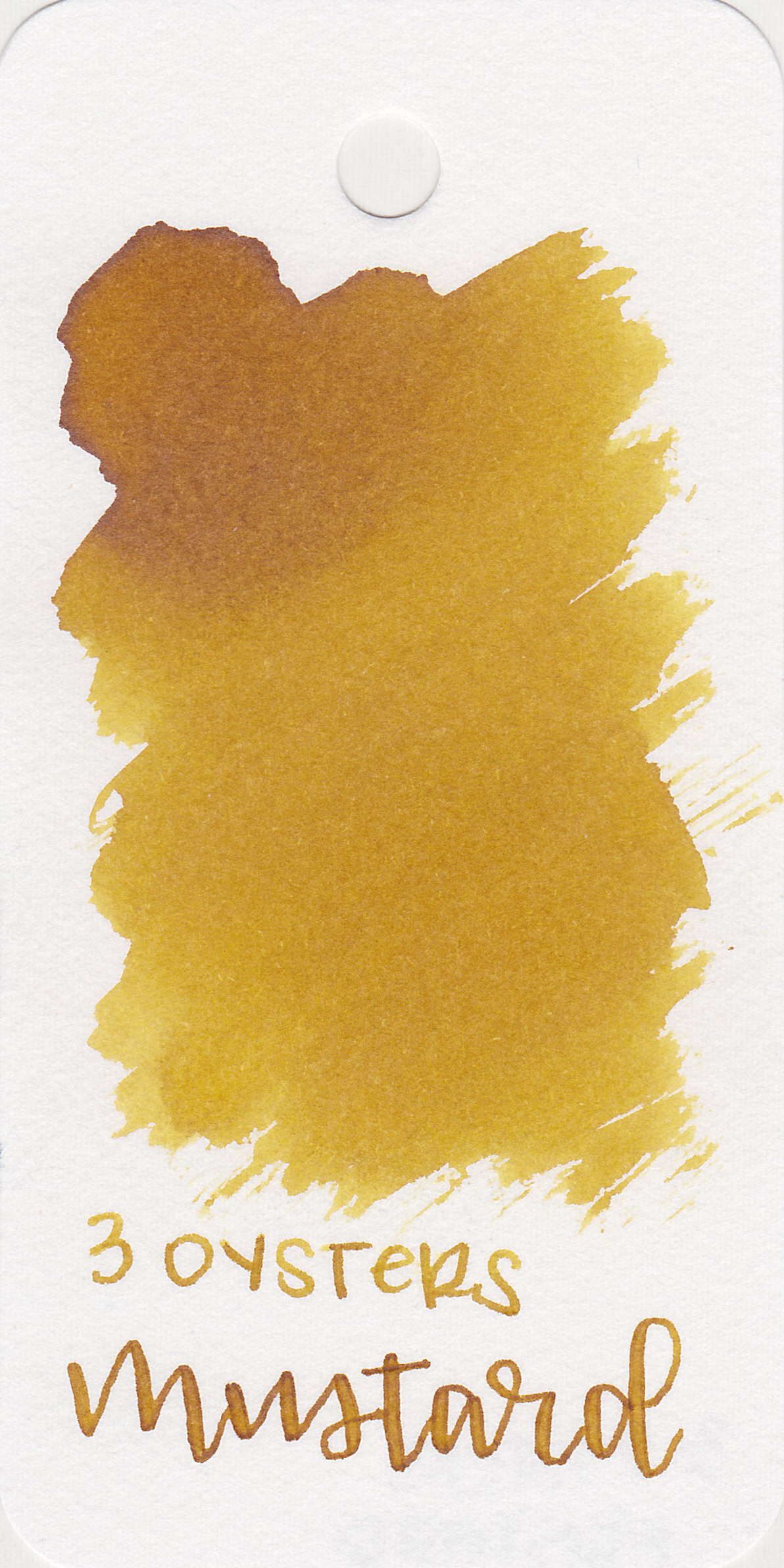 The color: - Mustard is just that-mustard yellow.