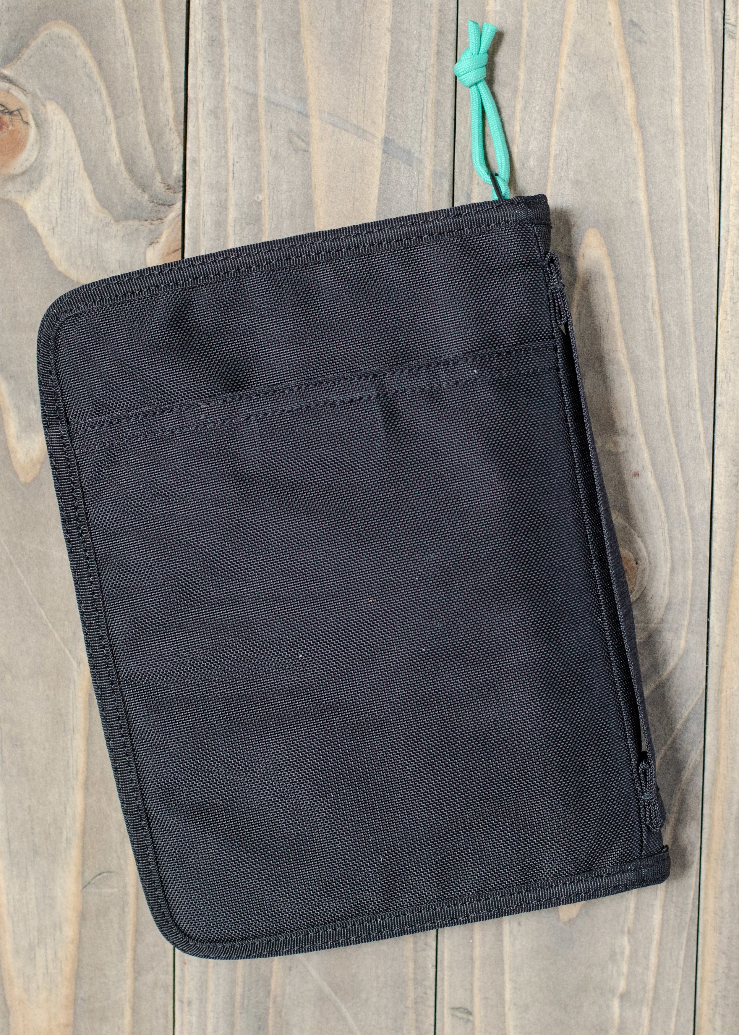 Details: - The cover fits the journal perfectly, and has a few pockets on the inside as well as one on the back.