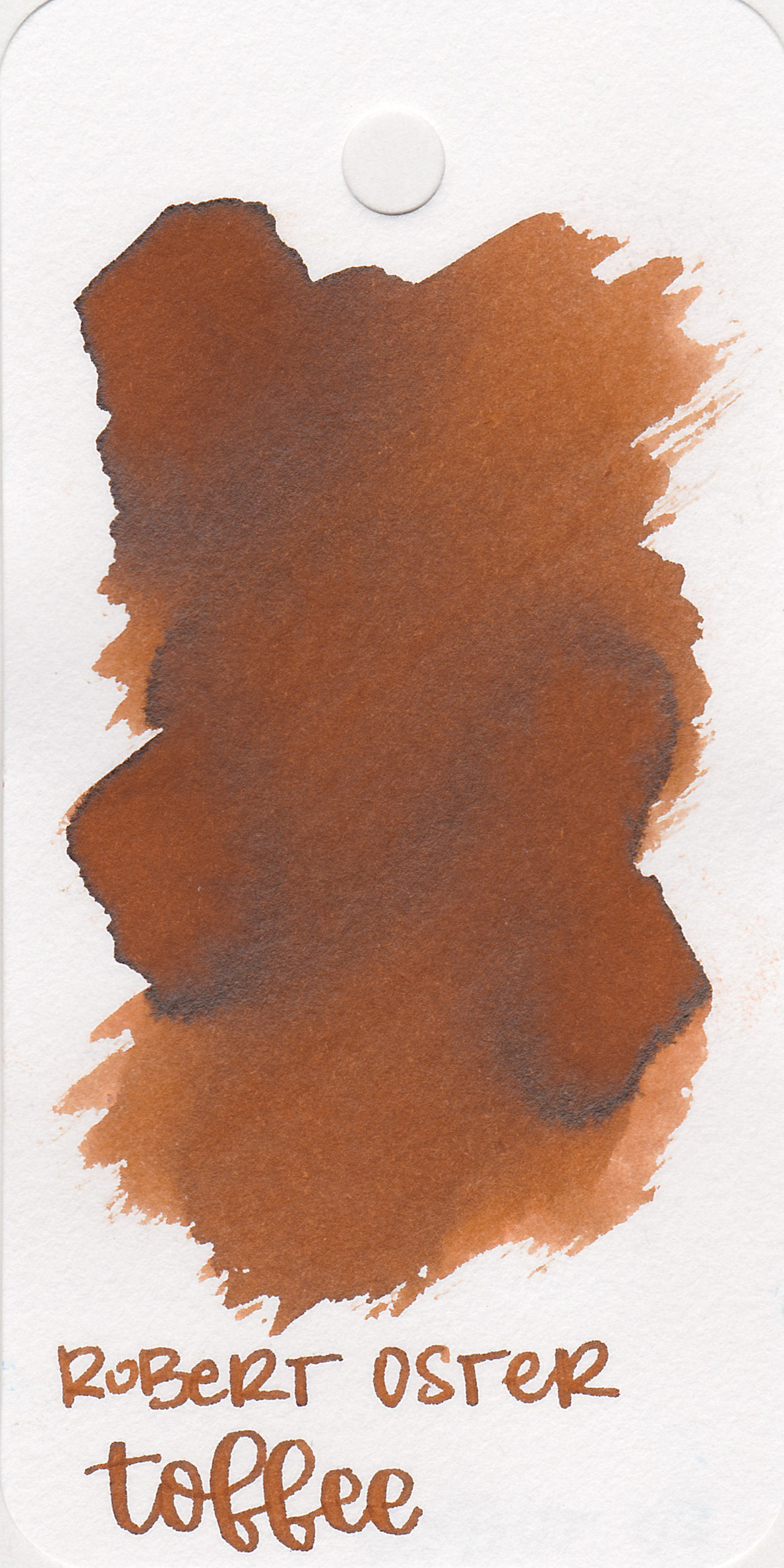 The color: - Toffee is just that-a medium toffee brown, so the name is fitting.