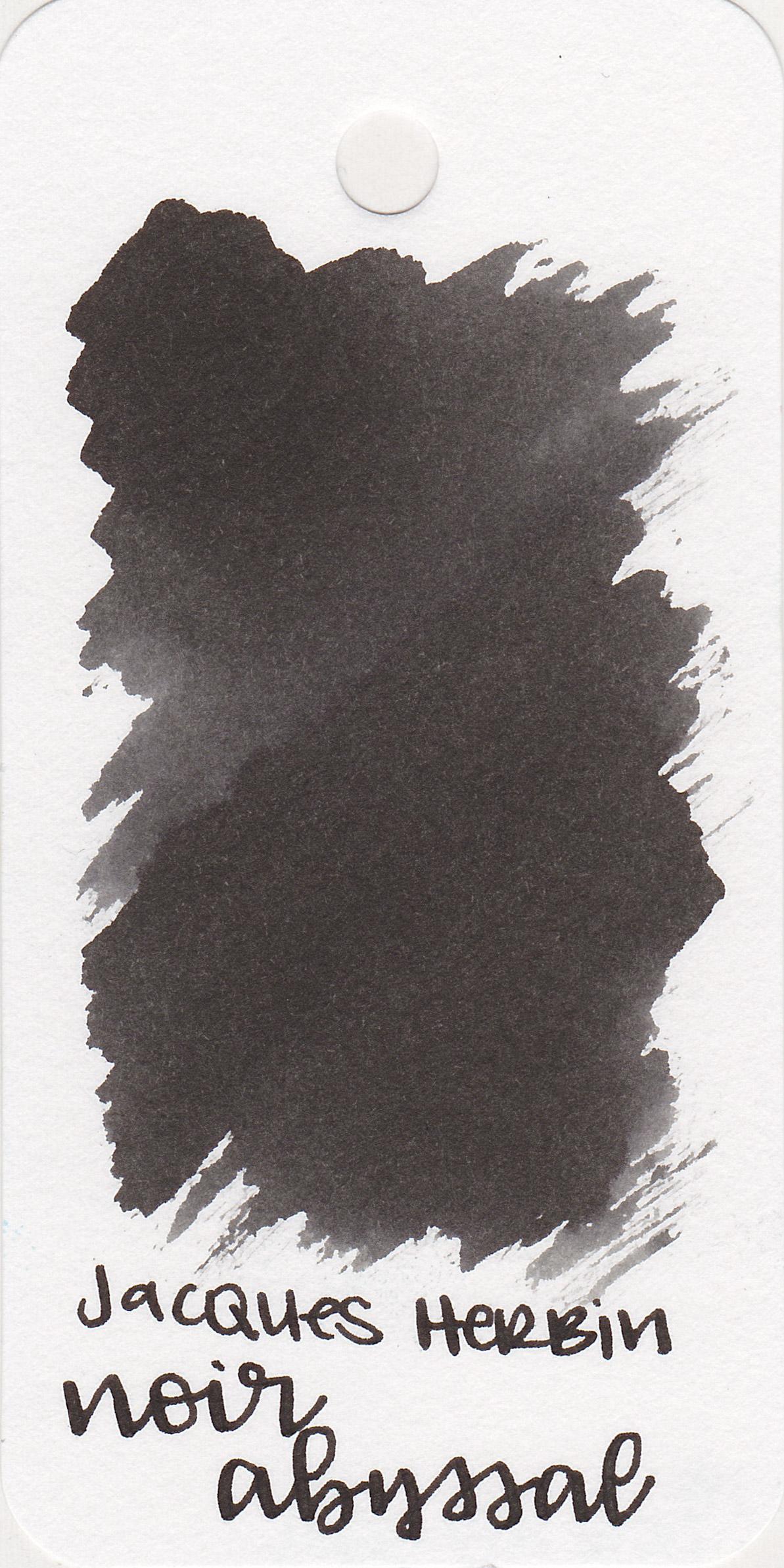 The color: - Noir Abyssal is a nice basic black.