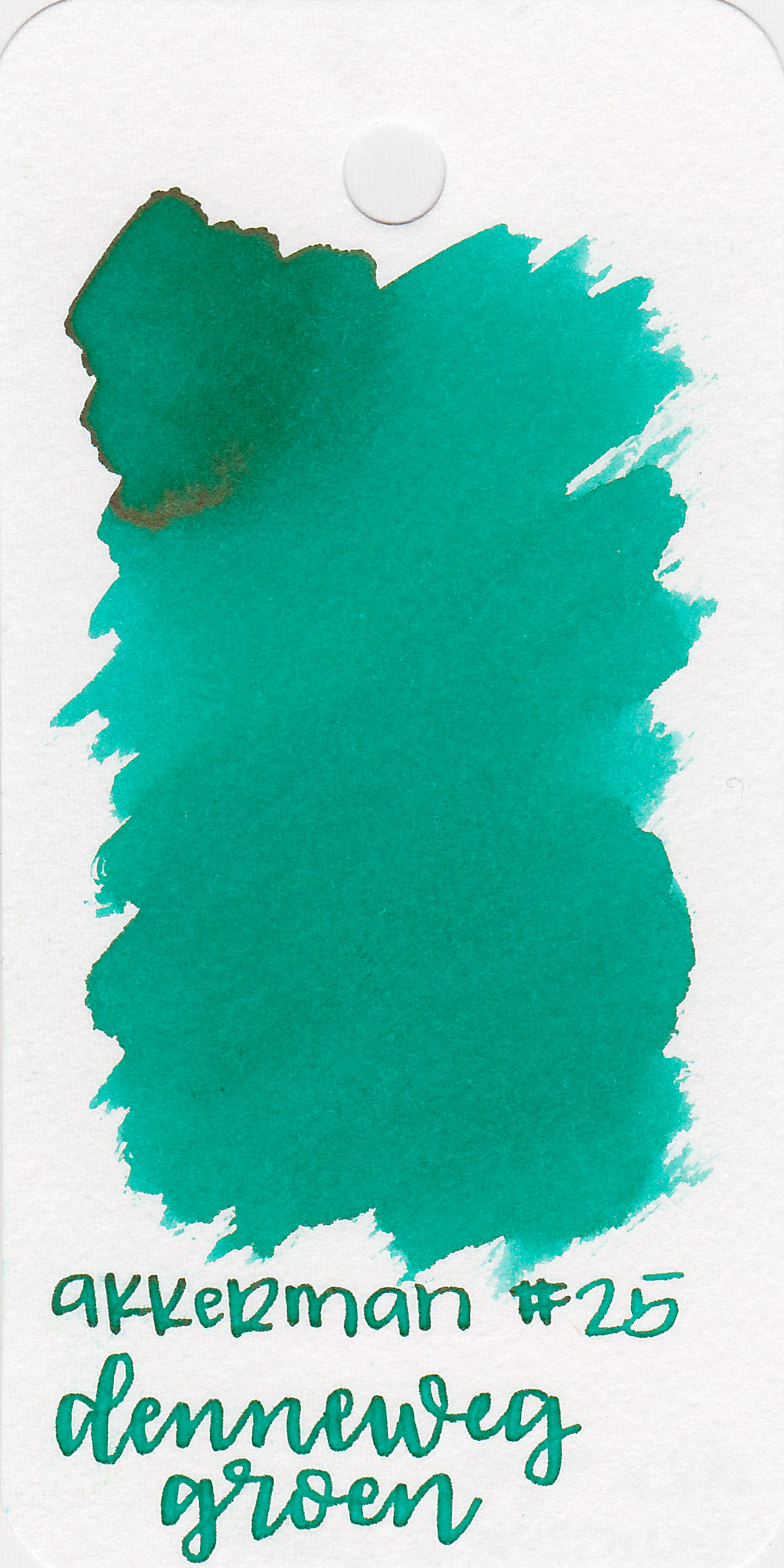 The color: - Denneweg Groen is a pretty teal-ish green. I think it's closer to teal than green.