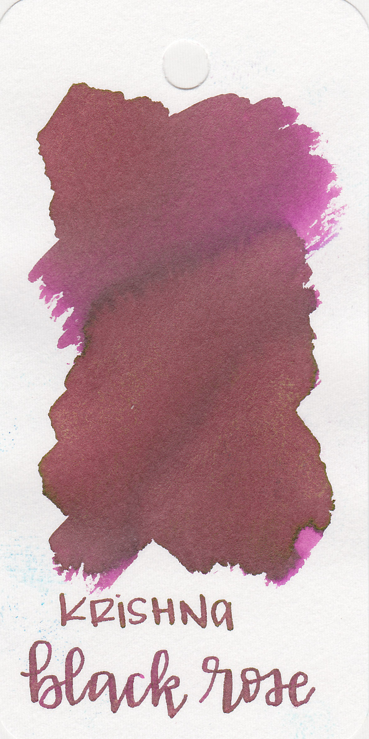 The color: - Black Rose is a medium magenta with gold shimmer.