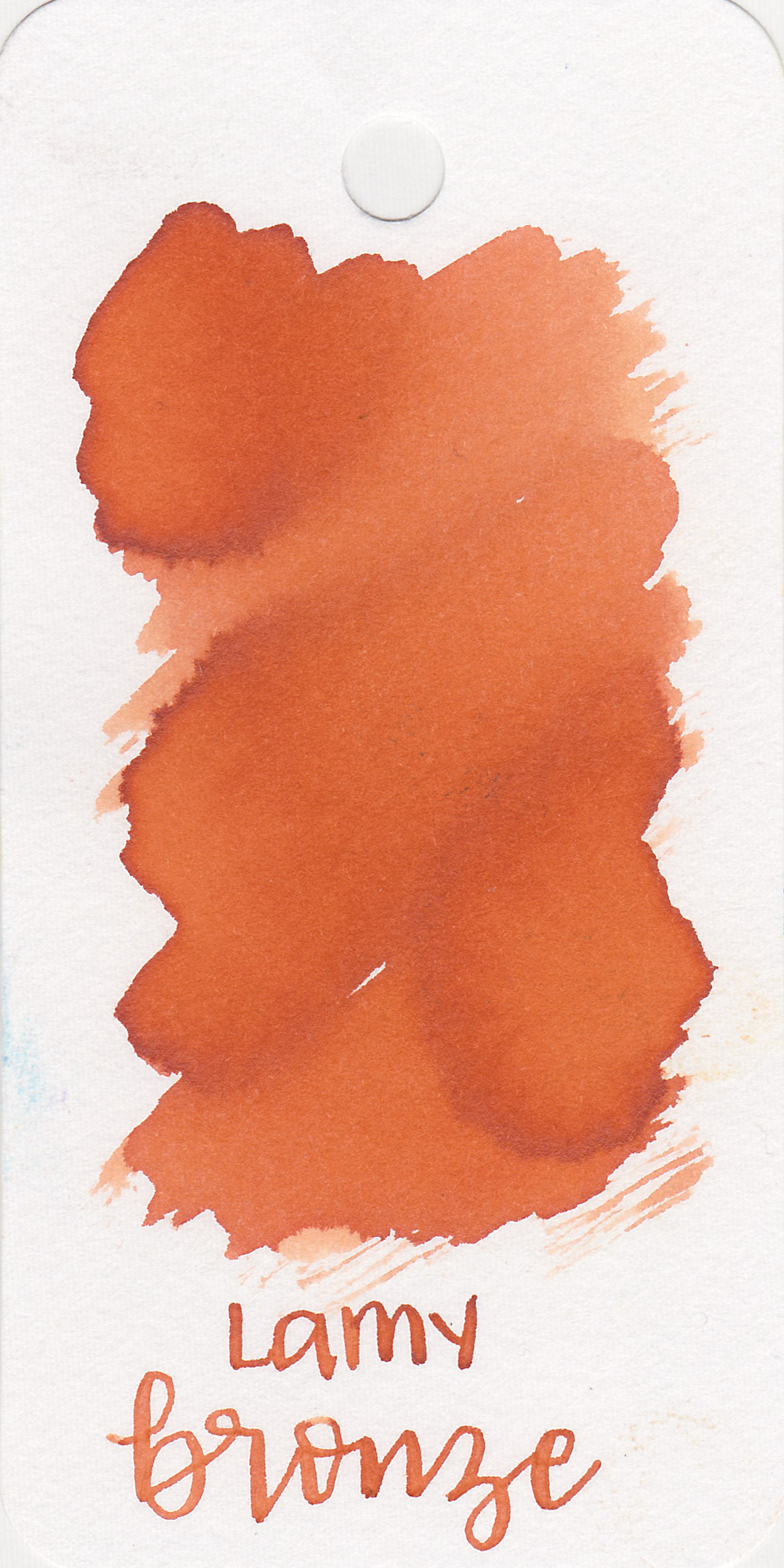 The color: - Bronze is a medium orange with some pretty shading.