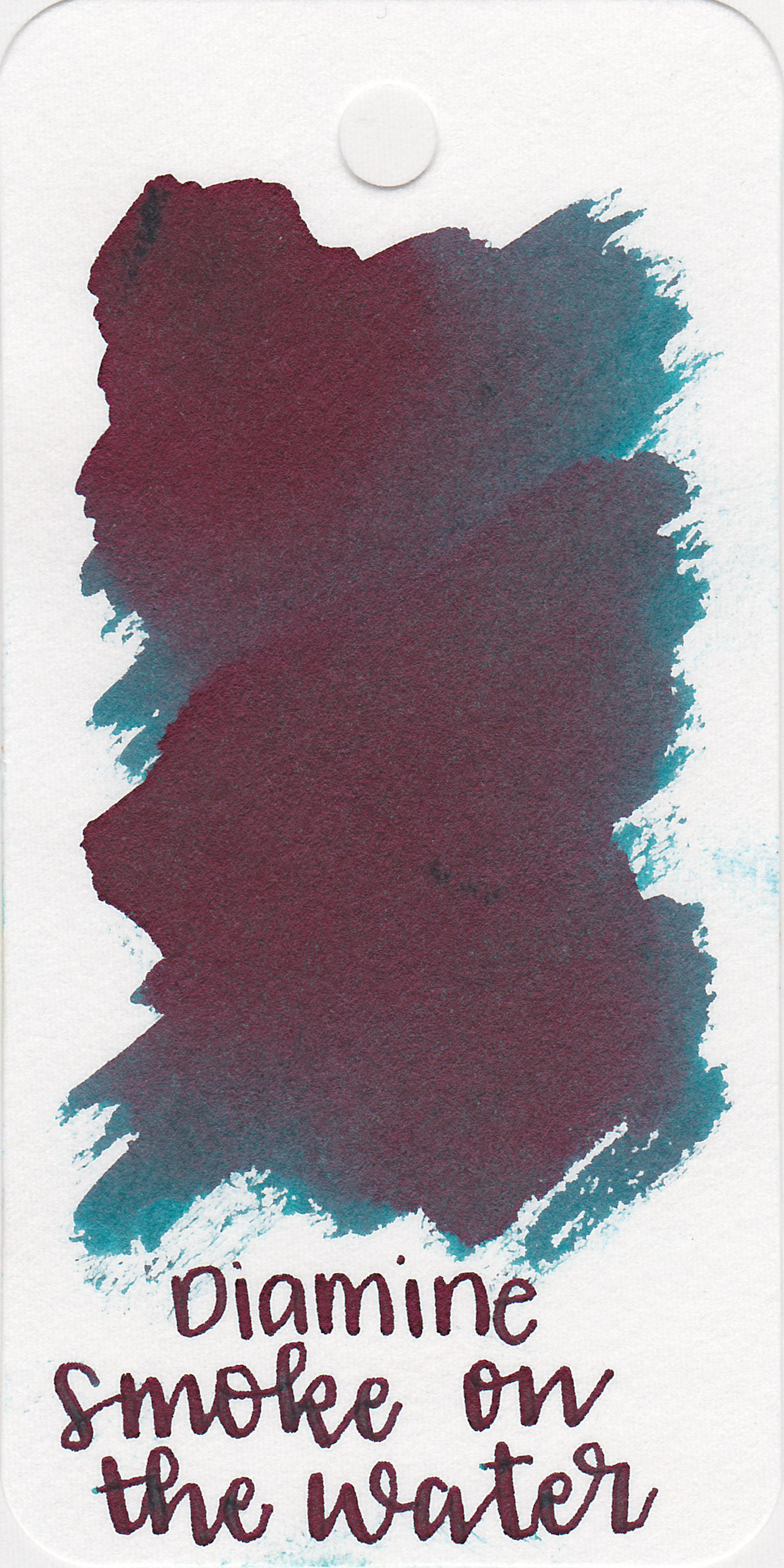 The color: - Smoke on the Water is a pretty dark teal with lots of sheen.