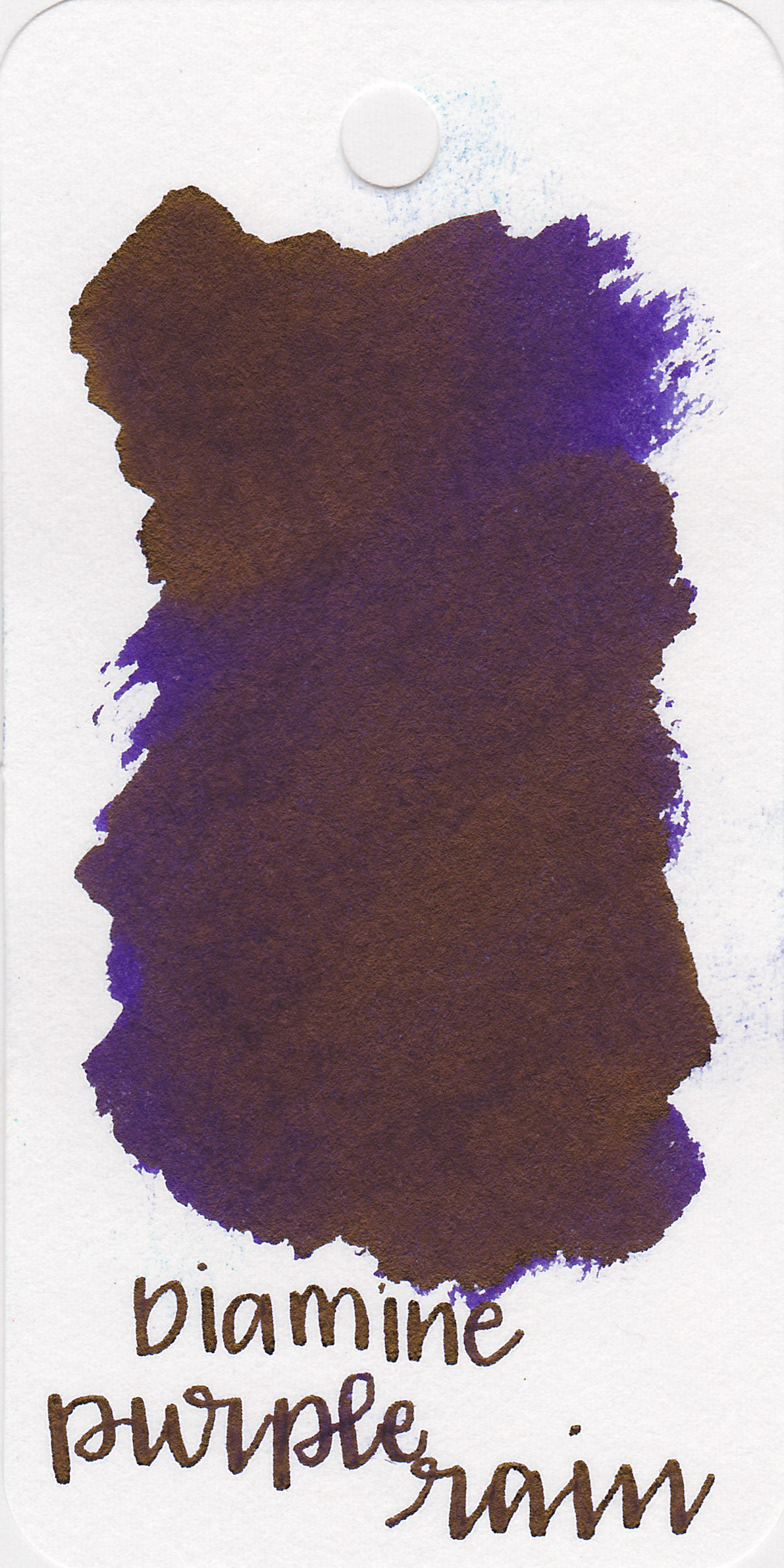 The color: - Purple Rain is a dark purple with lots of gold sheen.