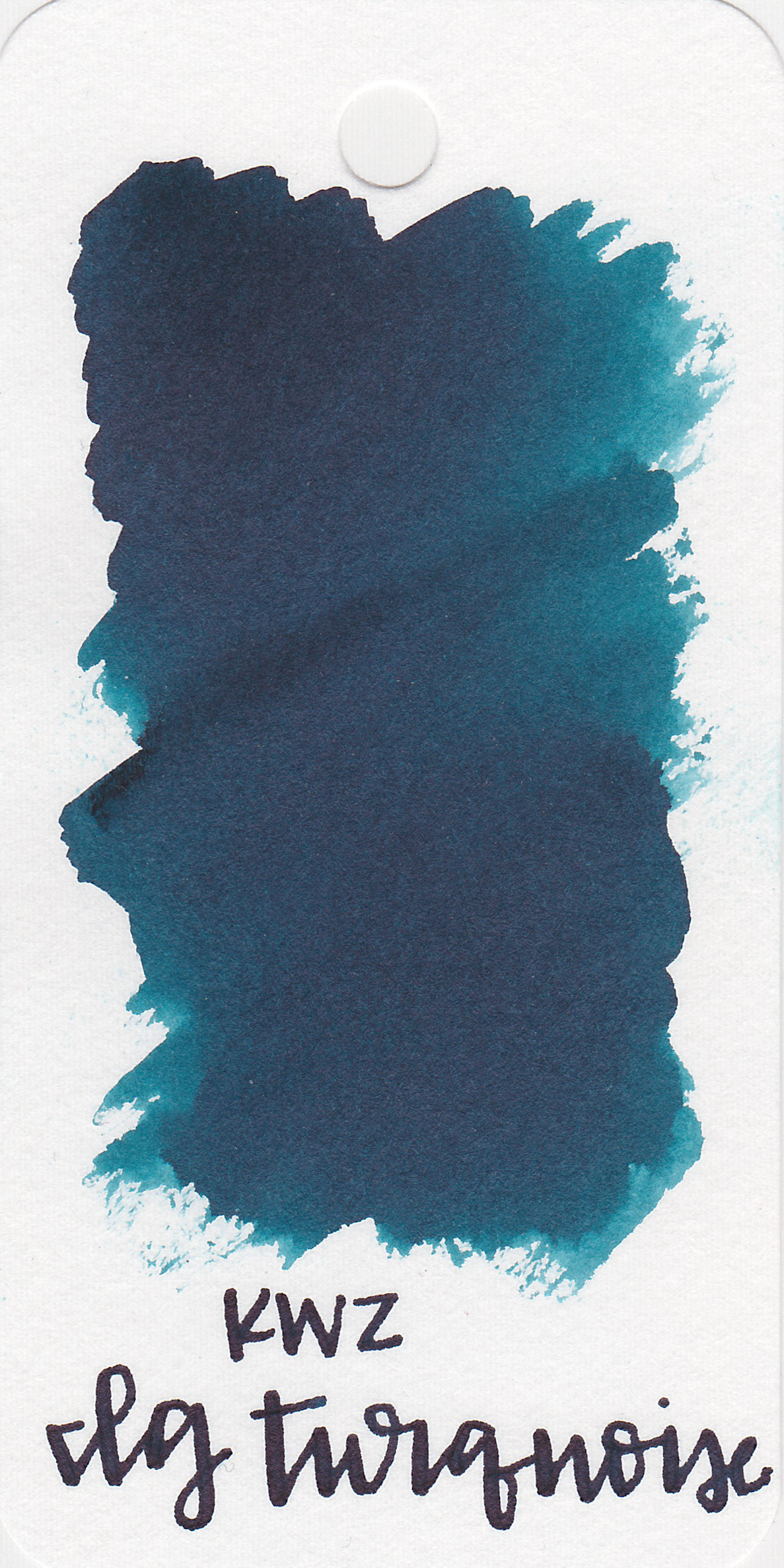 The color: - IG Turquoise is a dark blue with a green undertone.