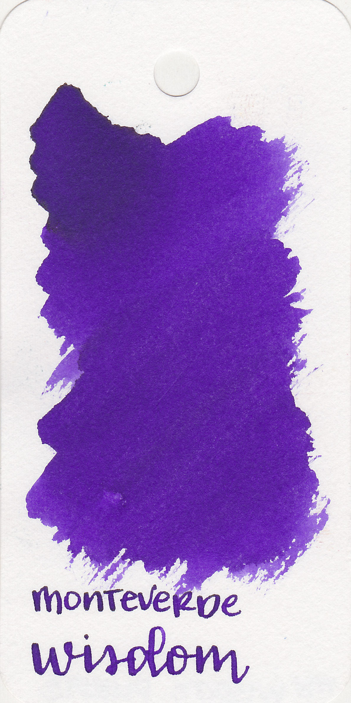 The color: - Wisdom is a bright, medium purple. Not too red or too blue, but right in the middle.