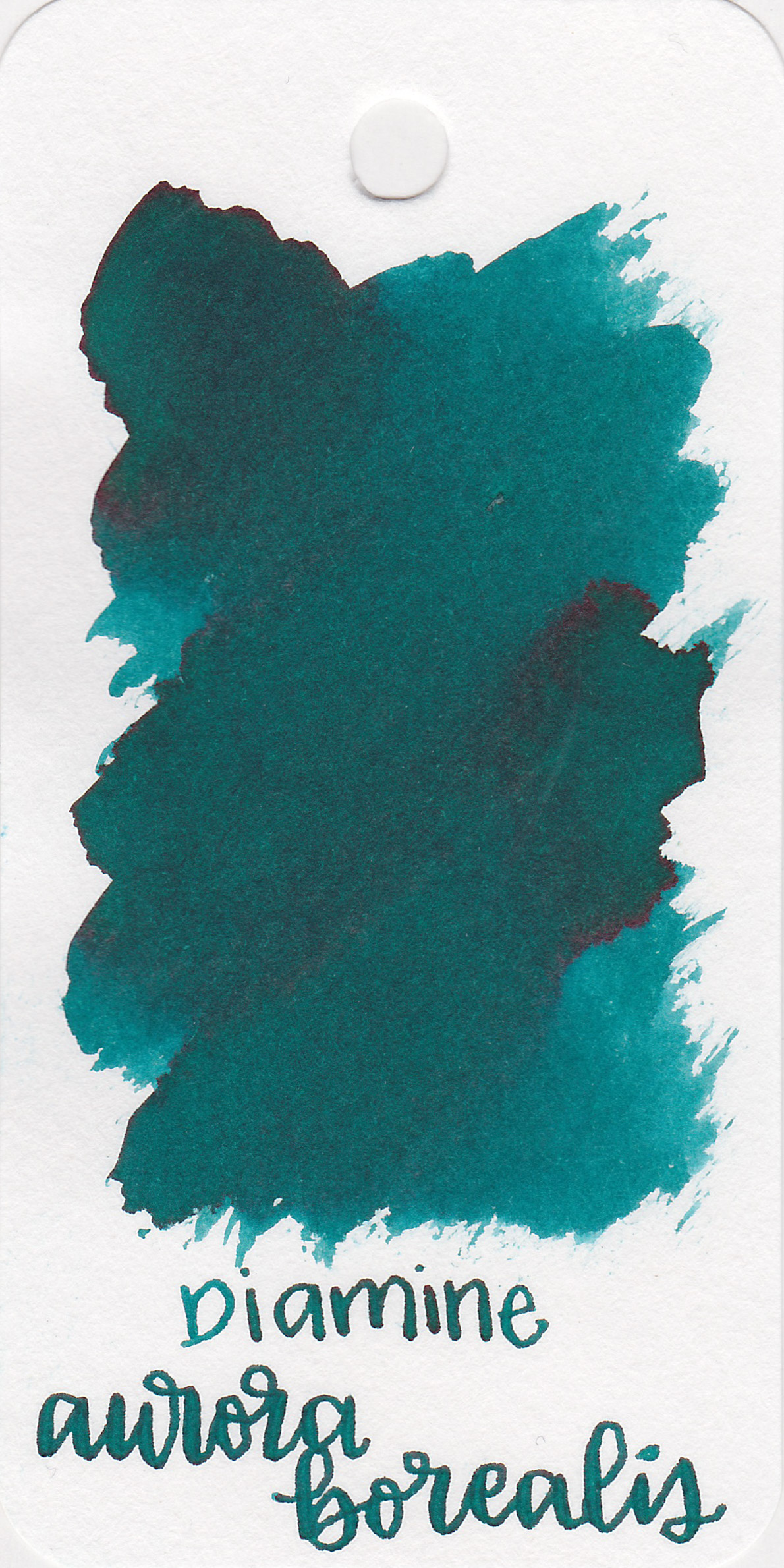The color: - Aurora Borealis is a beautiful dark teal.