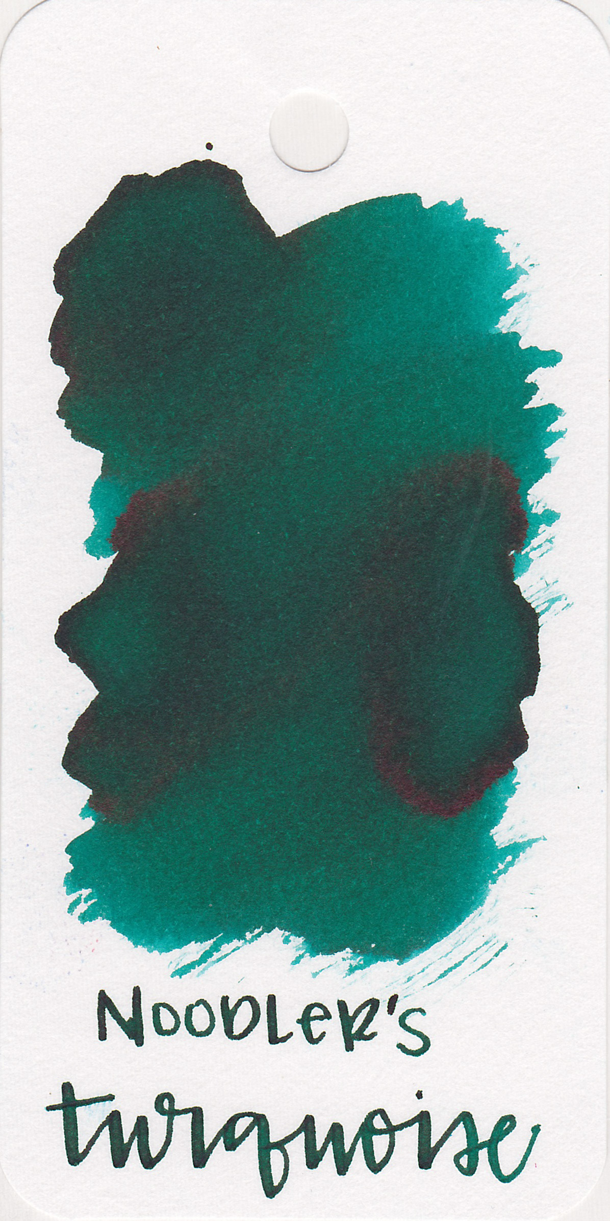 The color: - Turqoise is between blue and green, a bit more on the green side. I'd call it a greenish-teal.