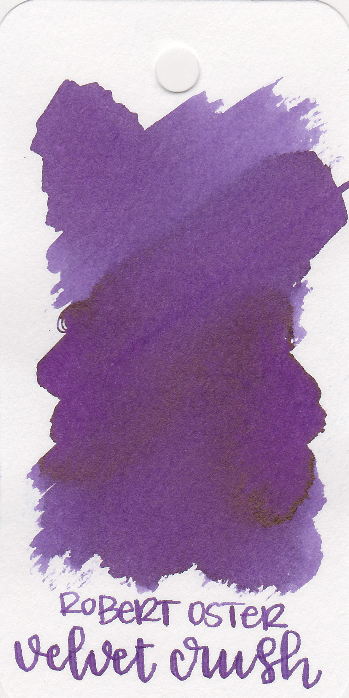The color: - Velvet Crush is a medium purple that leans just a little bit to the red side.