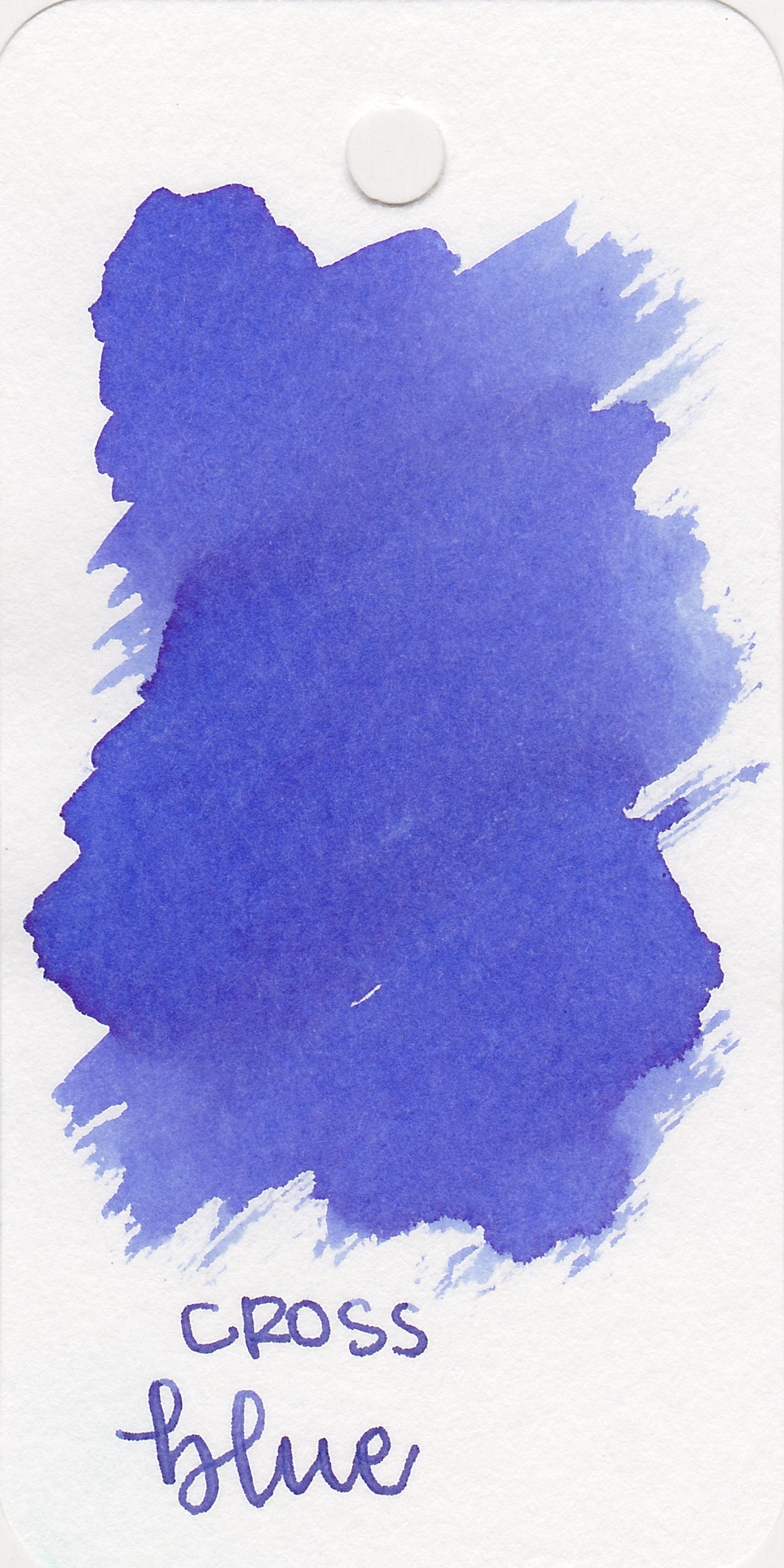 The color: - Blue is a medium blue that has just a bit of a purple undertone.
