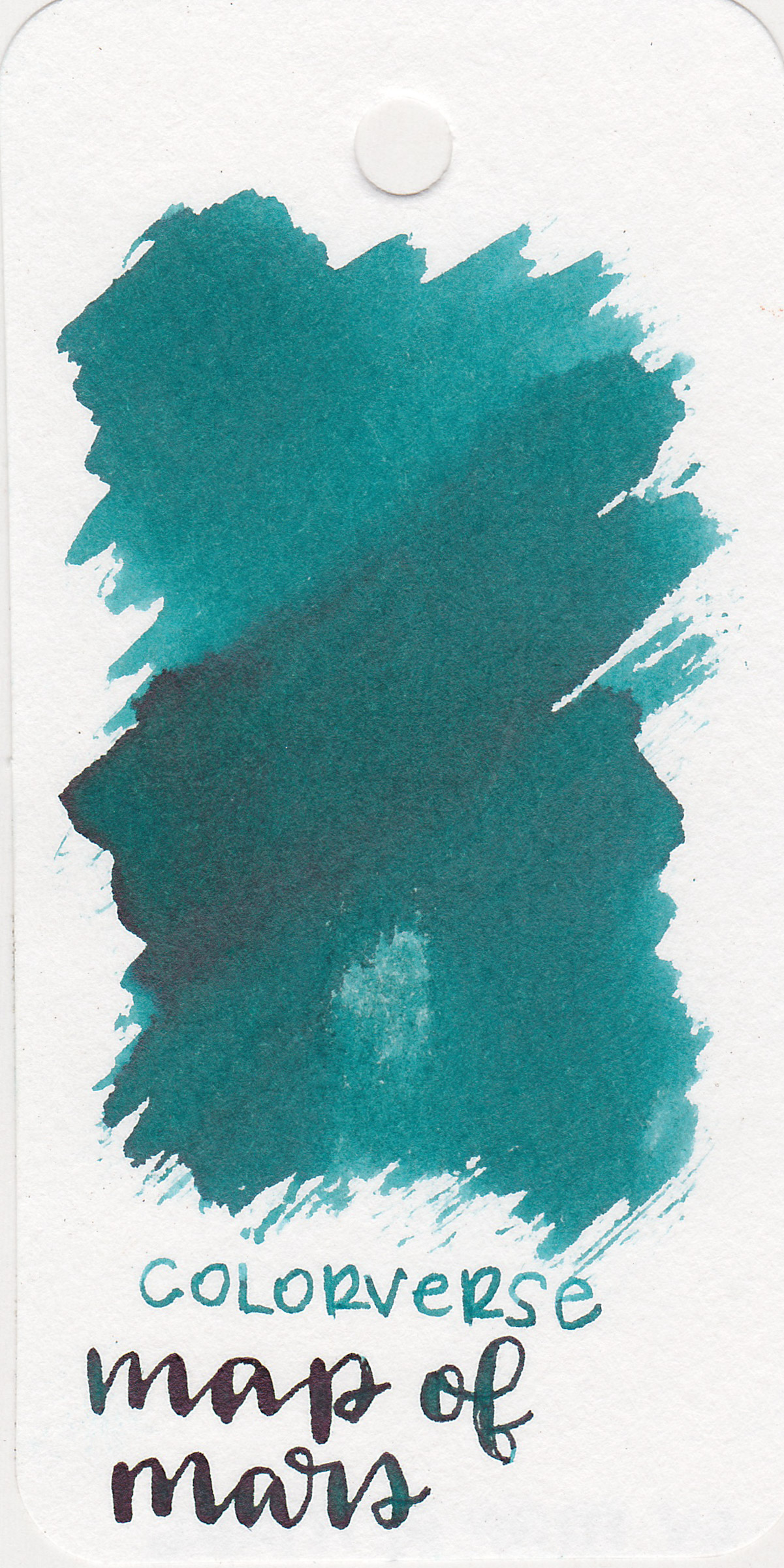 The color: - Map of Mars is a gorgeous dark teal.