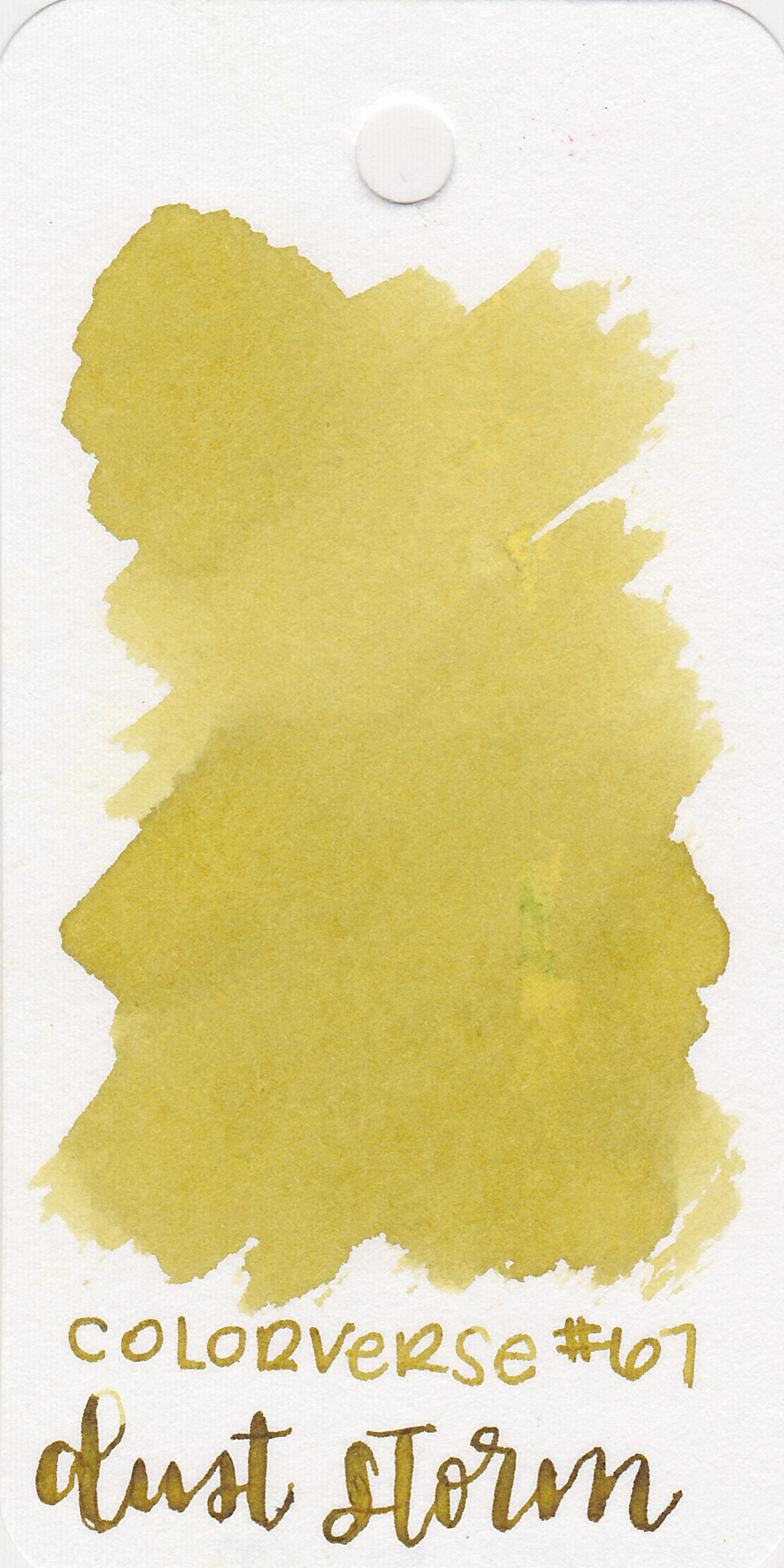 The color: - Dust Storm is a brownish-yellow with some shading.