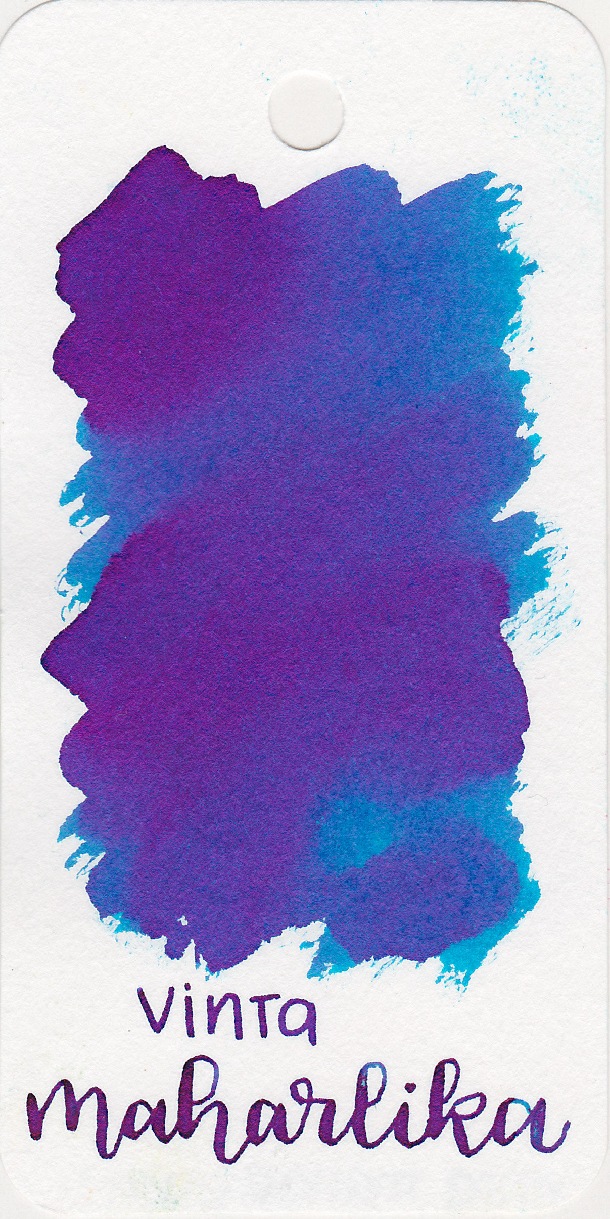 The color: - Maharlika is a medium-dark blue with lots of pink sheen.