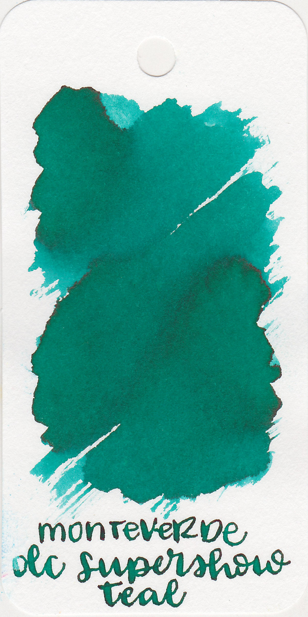 The color: - DC Supershow Teal is a beautiful medium teal with shading.