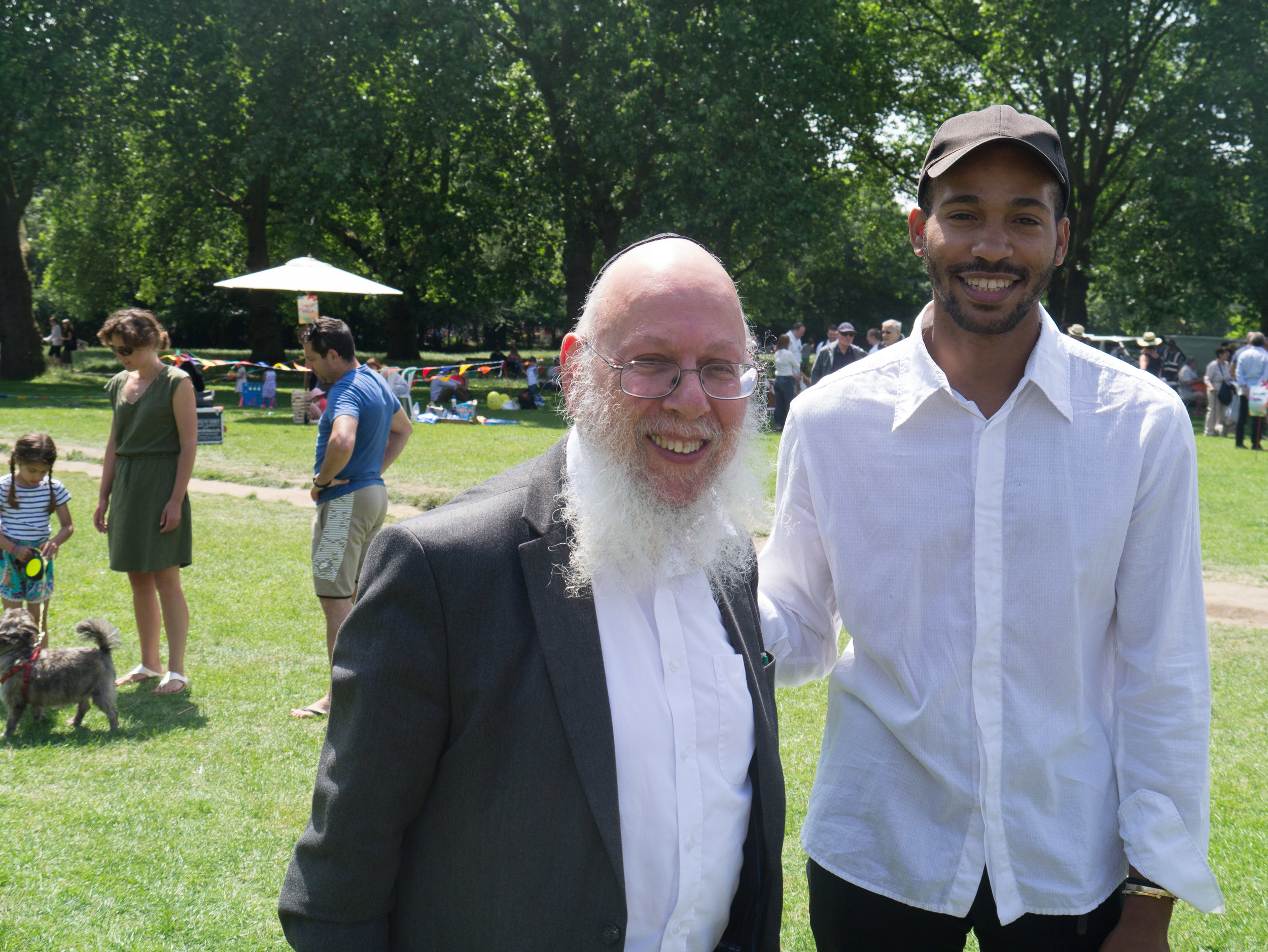 Rabbi and visitor.jpg